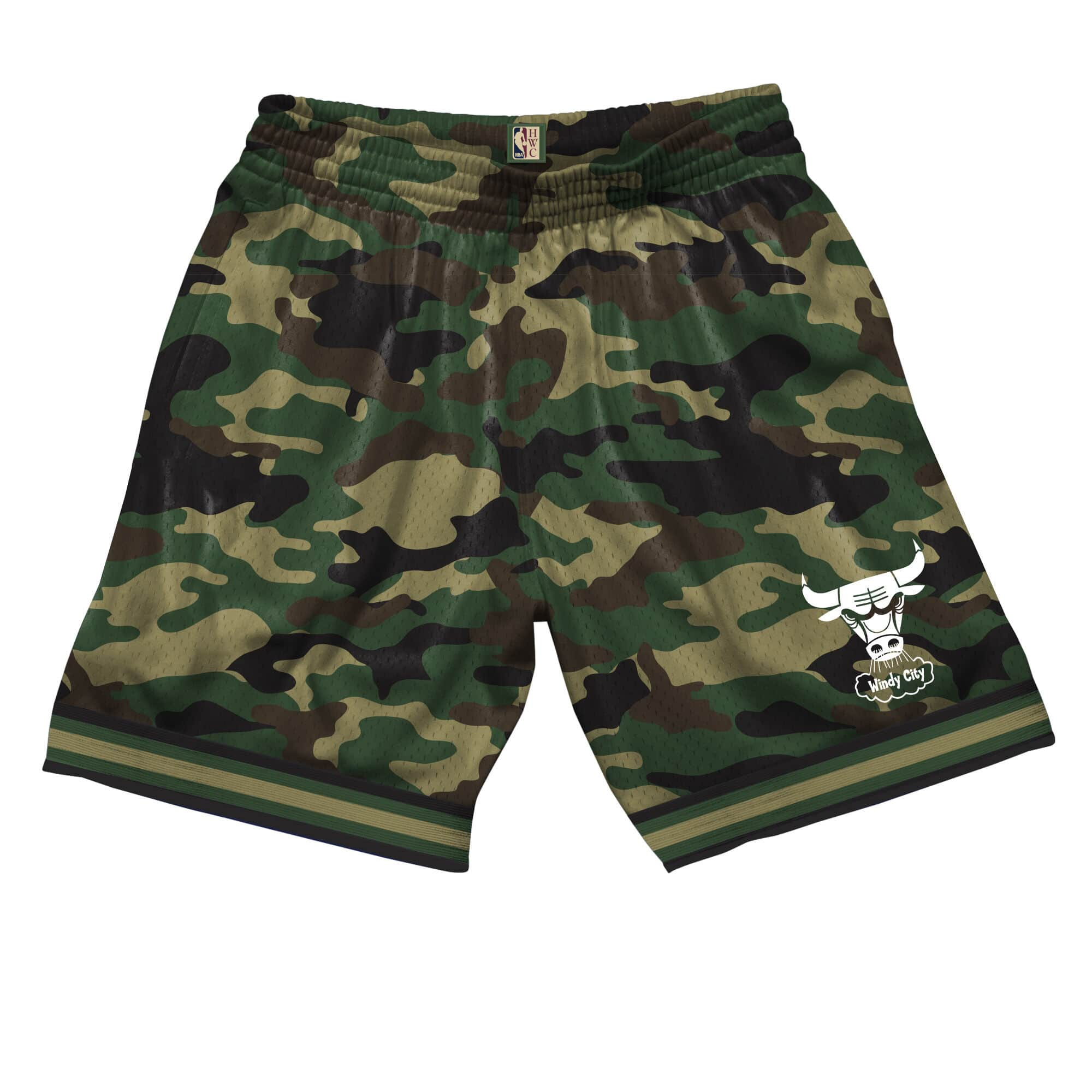 Camo Mesh Shorts Chicago Bulls