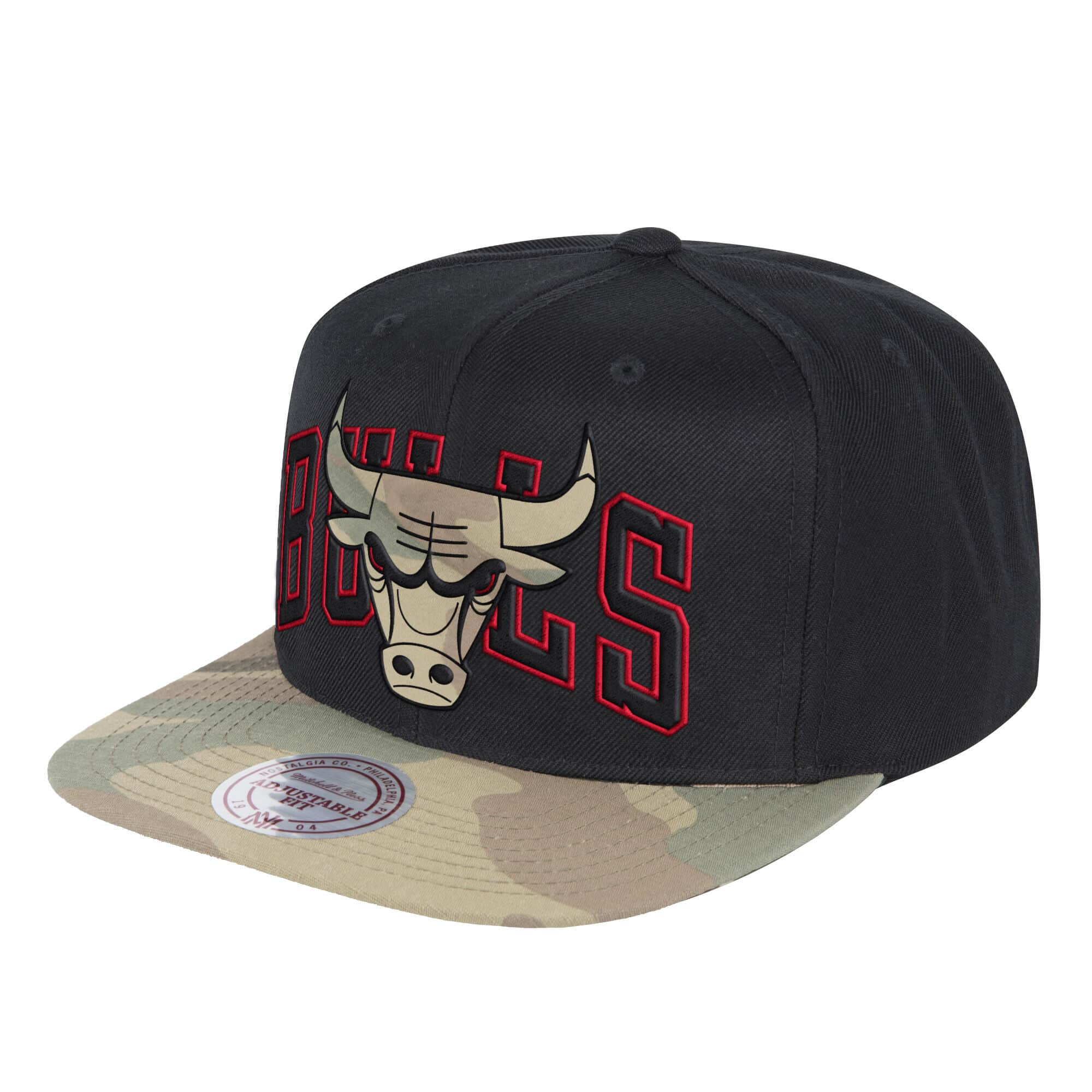 Covert Snapback Chicago Bulls