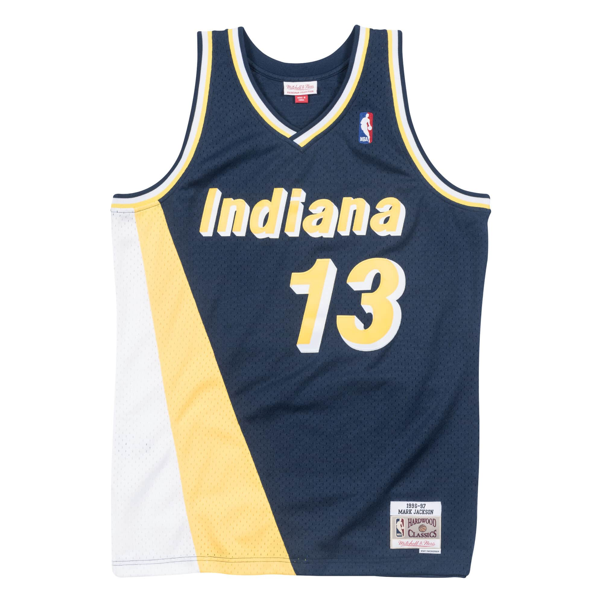Mark Jackson 1996-97 Indiana Pacers Road Swingman Jersey