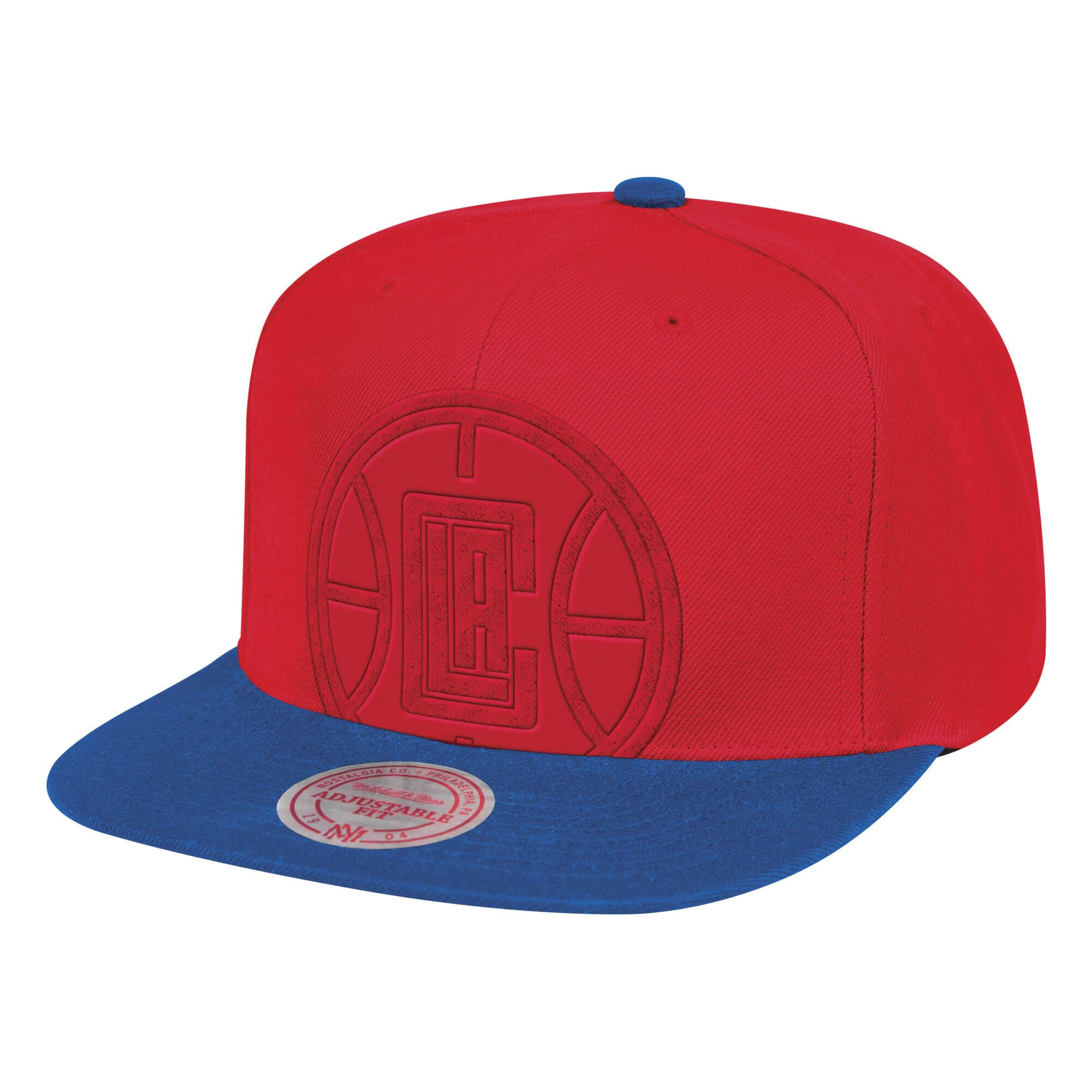 Cropped Satin Snapback Los Angeles Clippers
