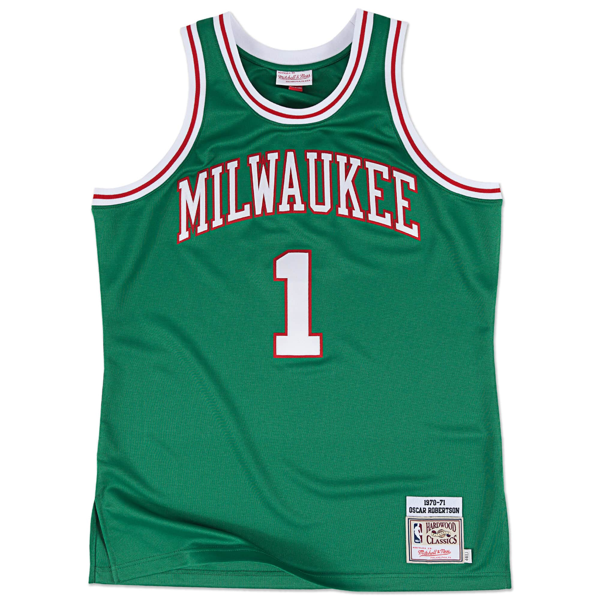 Oscar Robertson 1970-71 Authentic Jersey Milwaukee Bucks