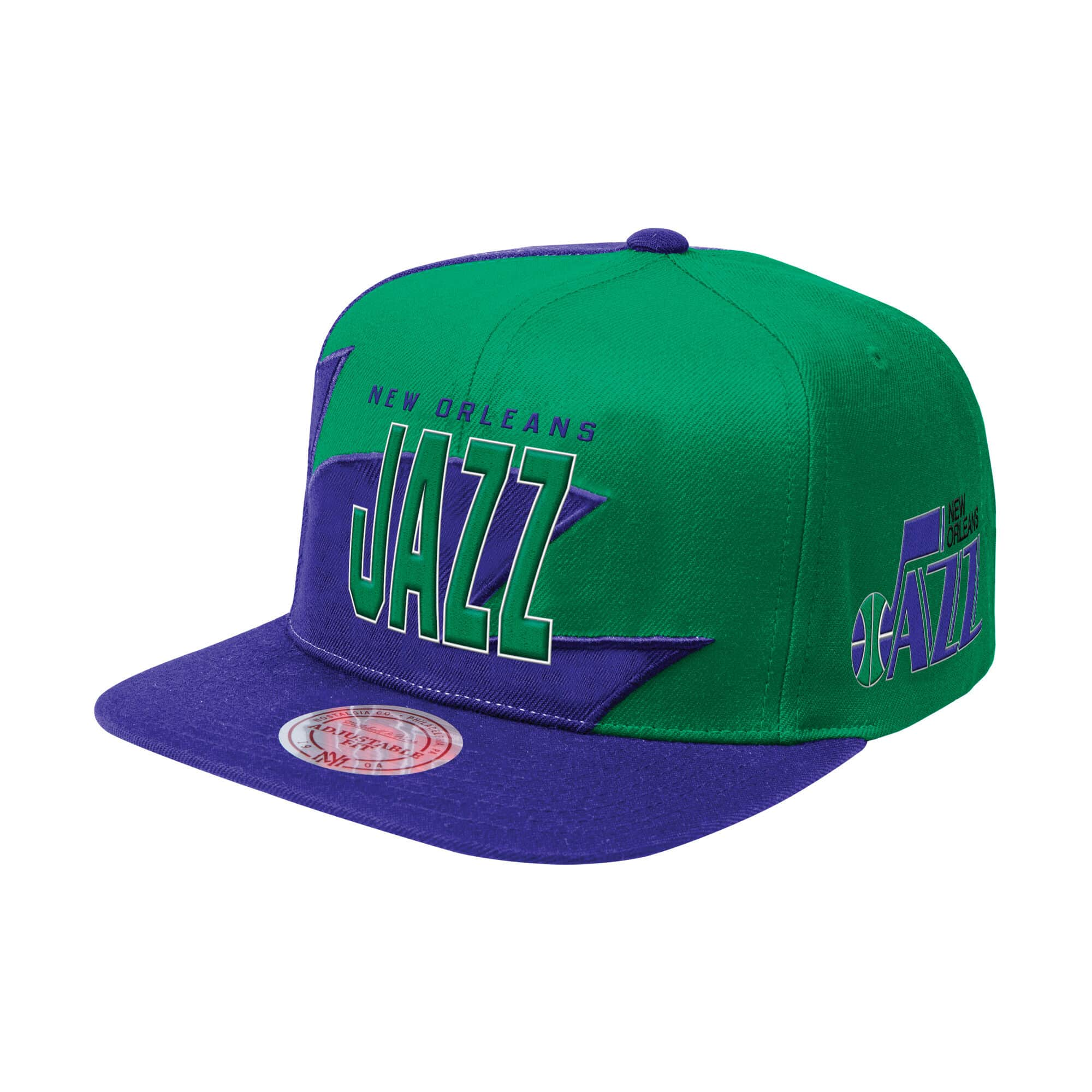 Shark Tooth Snapback New Orleans Jazz