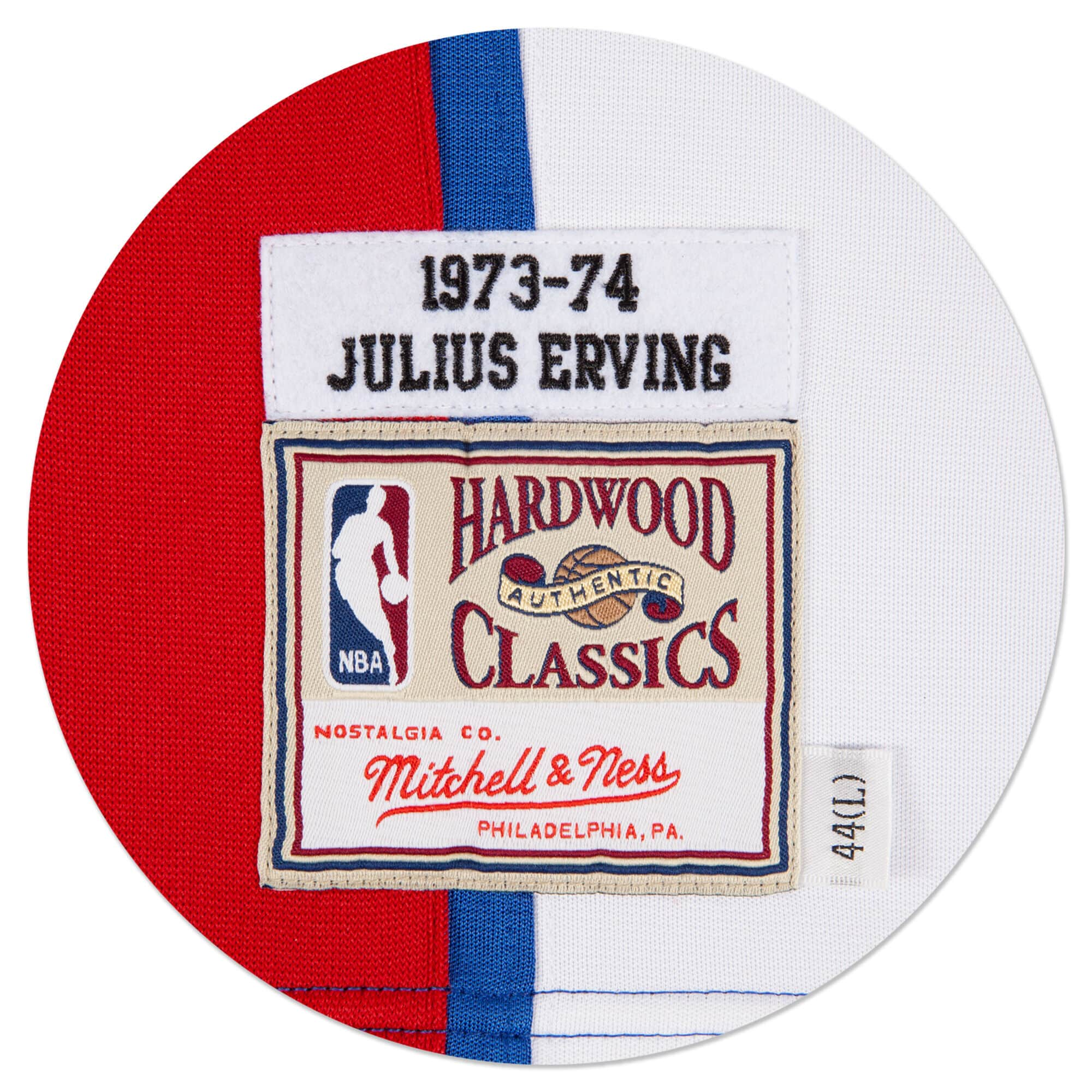 Julius Erving 1973-74 Authentic Jersey New York Nets