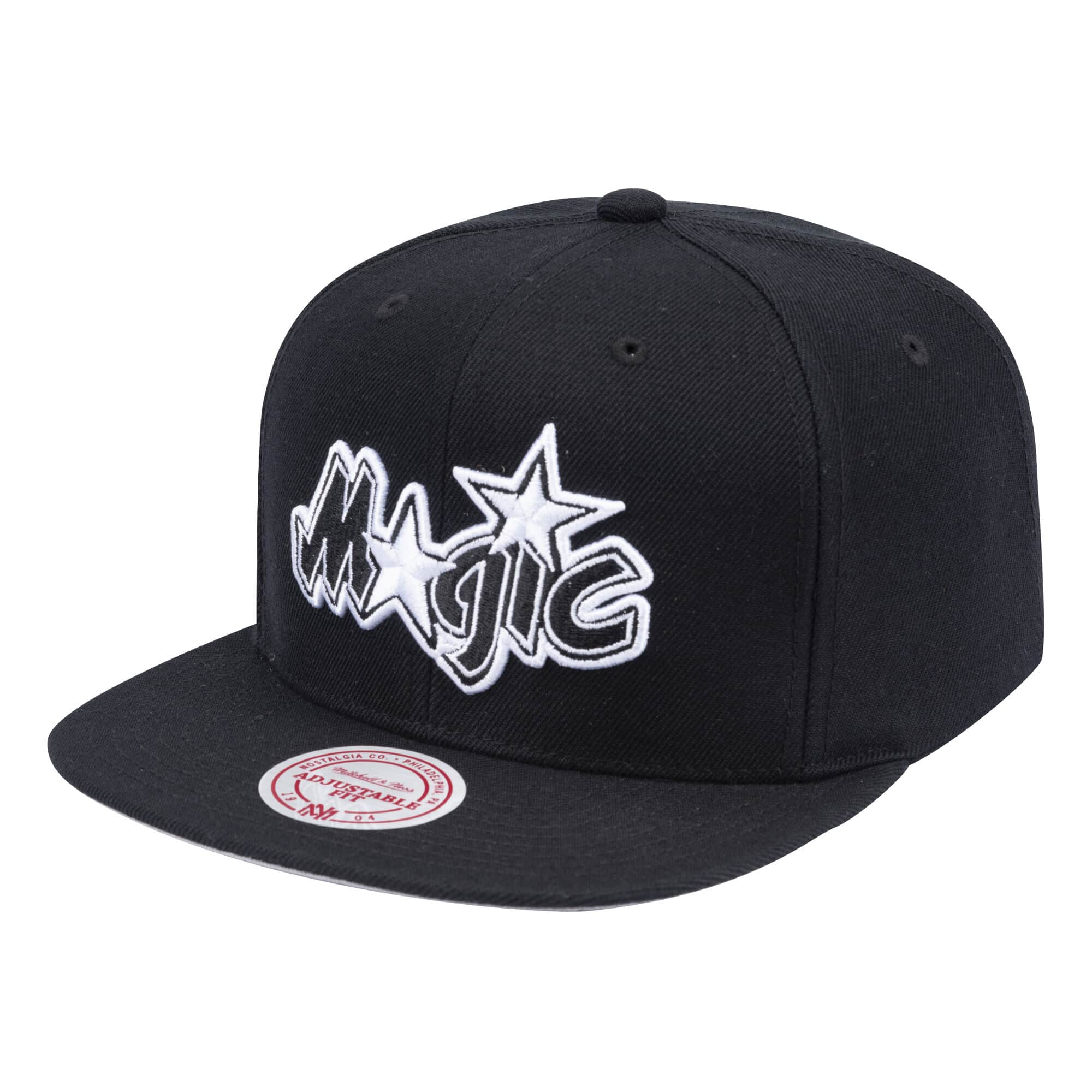 Wool B/W Snapback Orlando Magic