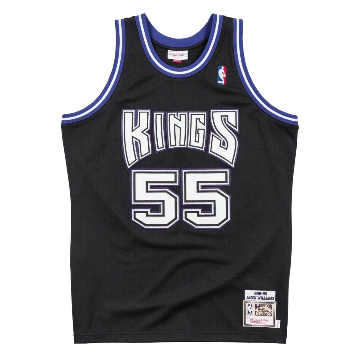 Authentic Jersey Sacramento Kings Road 1998-99 Jason Williams
