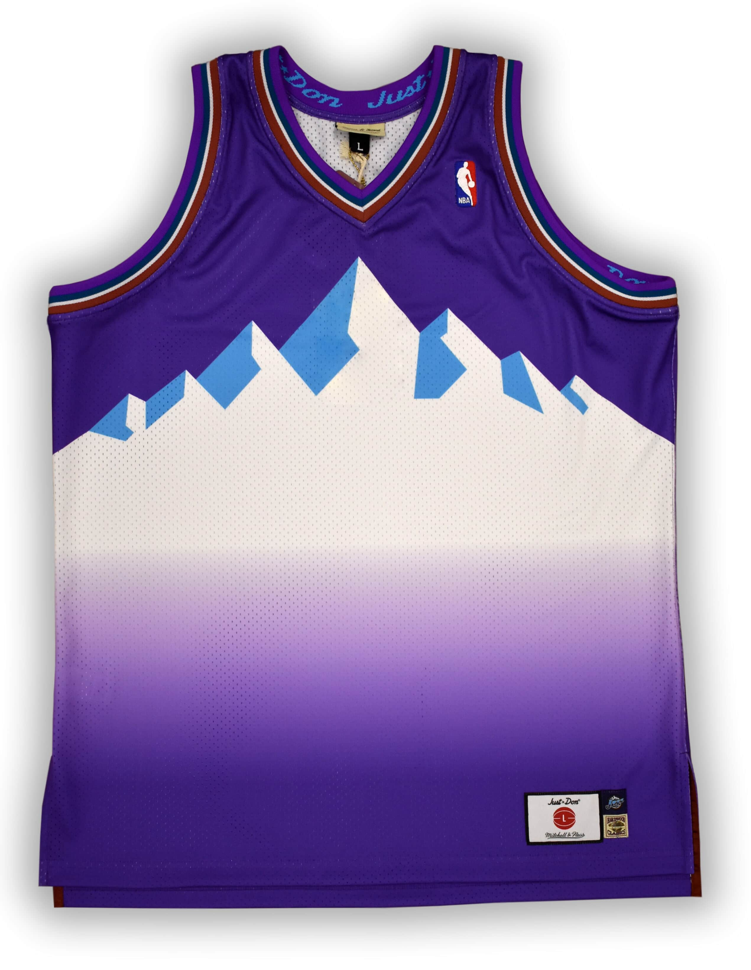 Just Don No Name Jersey Utah Jazz