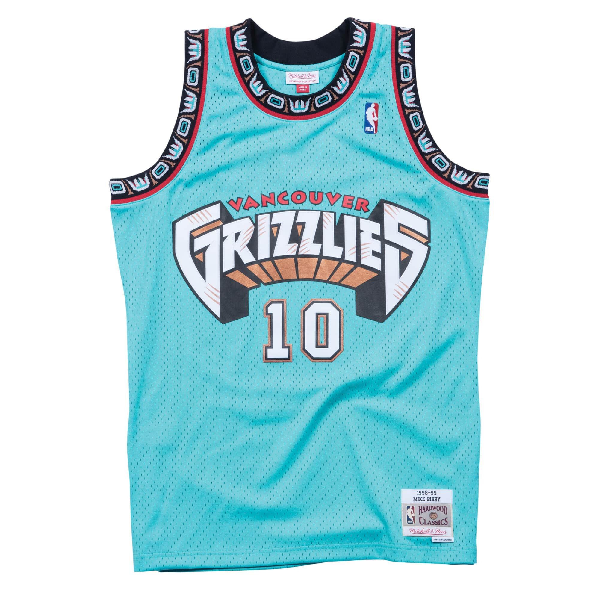 Swingman Jersey Vancouver Grizzlies Road 1998-99 Mike Bibby