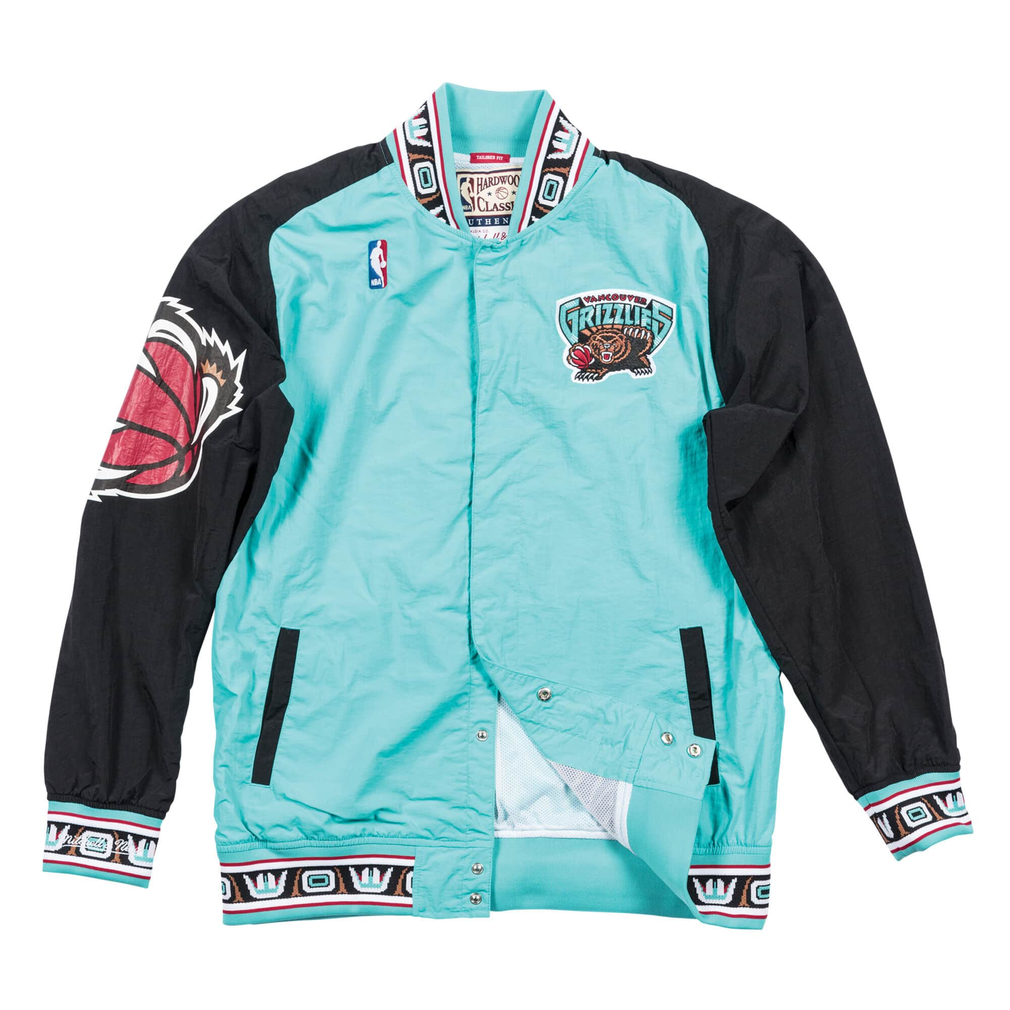 Authentic Warm Up Jacket Vancouver Grizzlies 1995-96