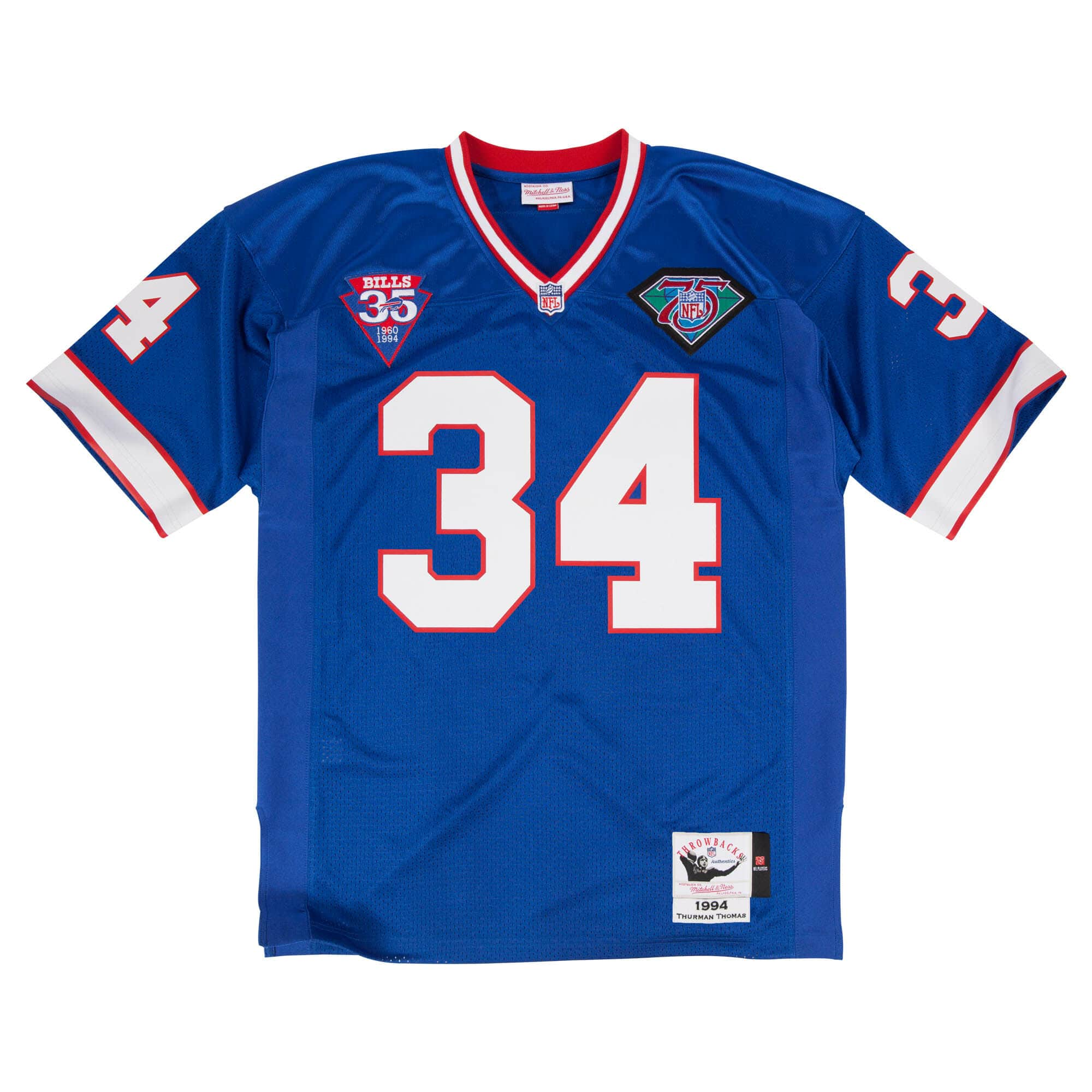 Thurman Thomas 1994 Authentic Jersey Buffalo Bills