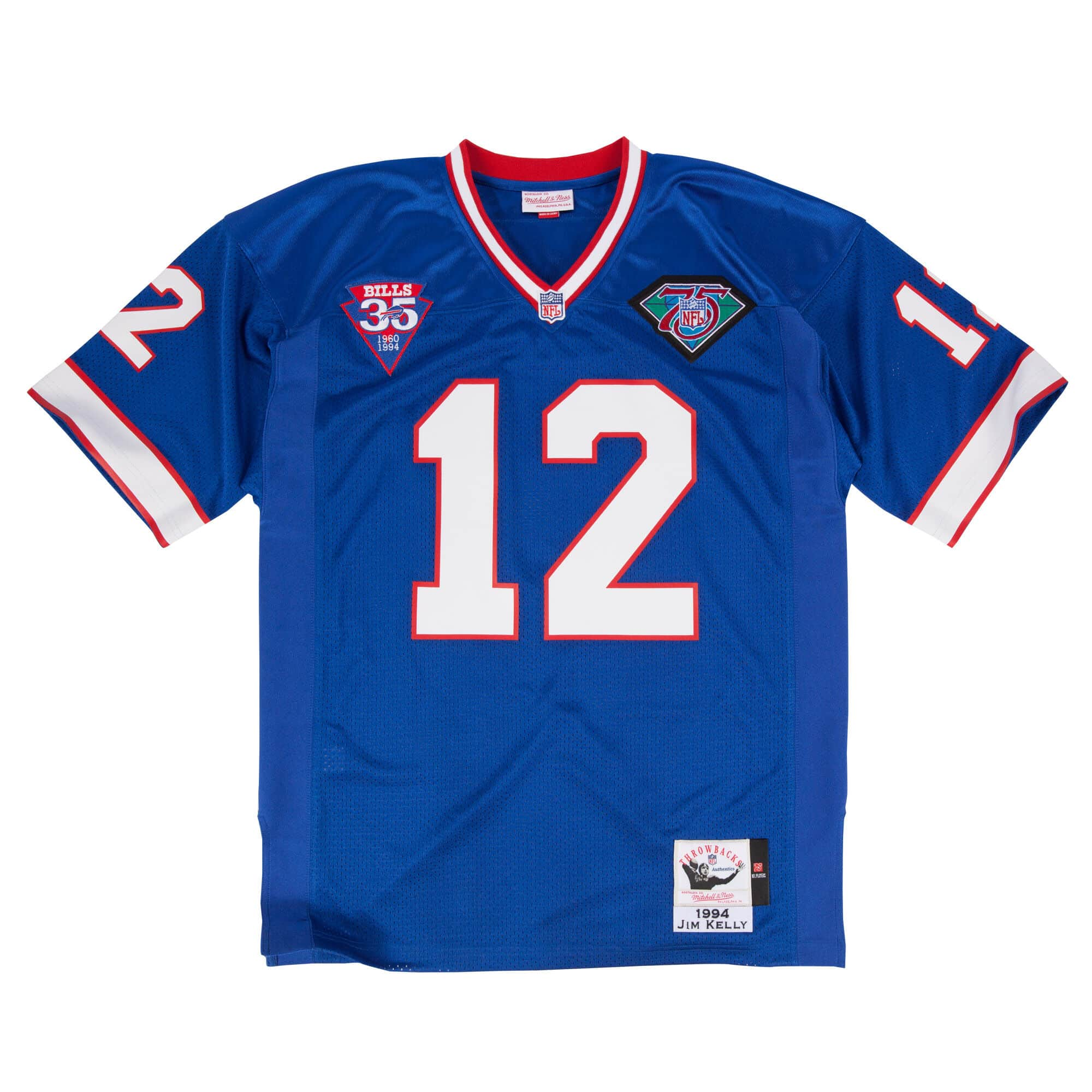 Jim Kelly 1994 Authentic Jersey Buffalo Bills
