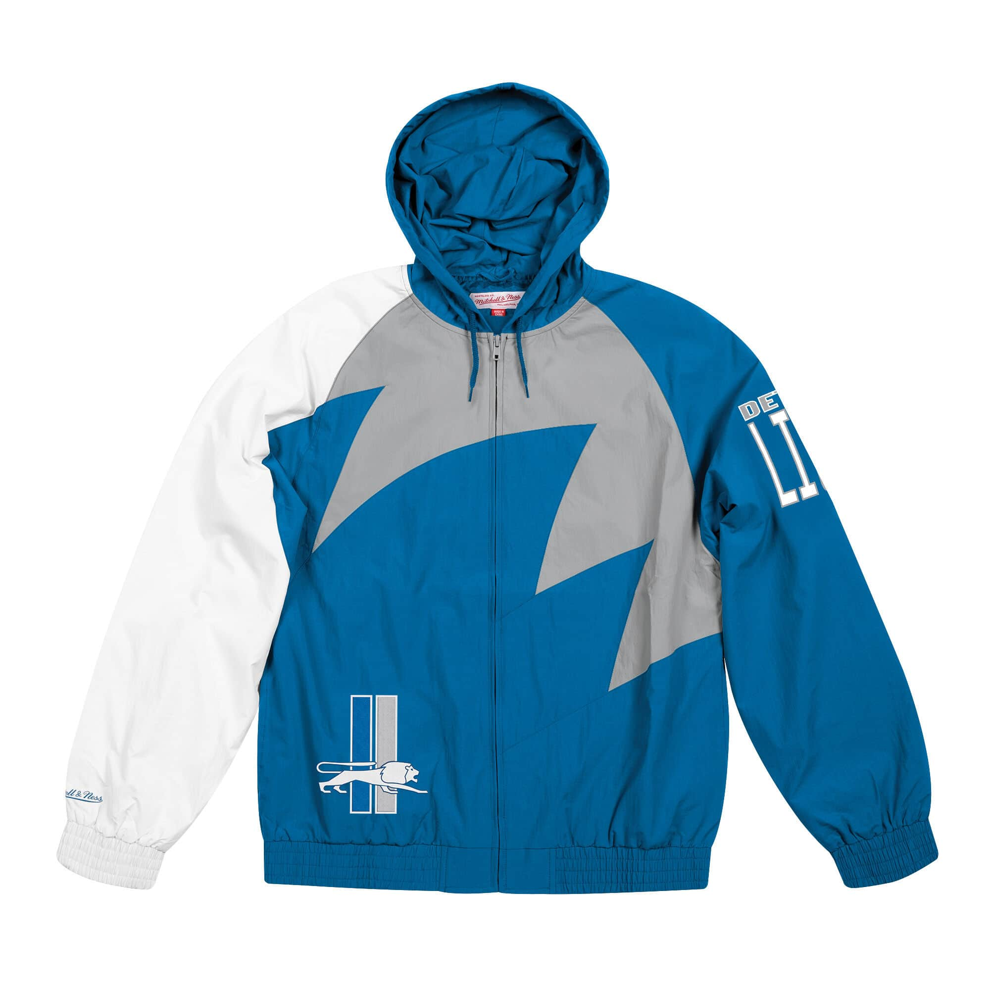 Shark Tooth Jacket Detroit Lions