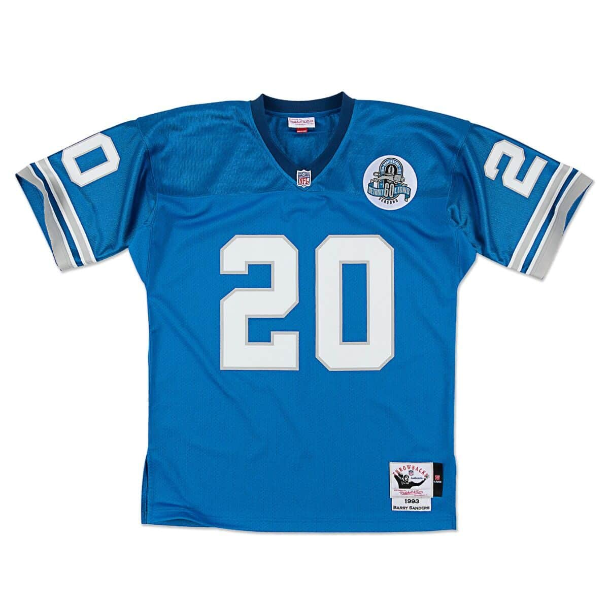 Barry Sanders 1993 Authentic Jersey Detroit Lions