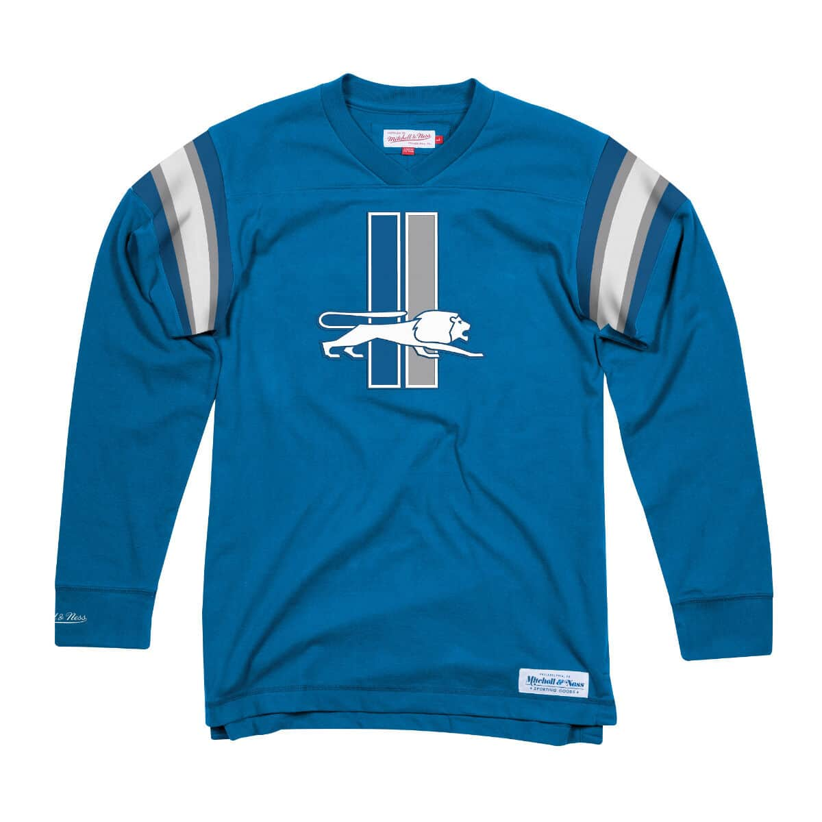 Team Captain V-Neck LS Detroit Lions