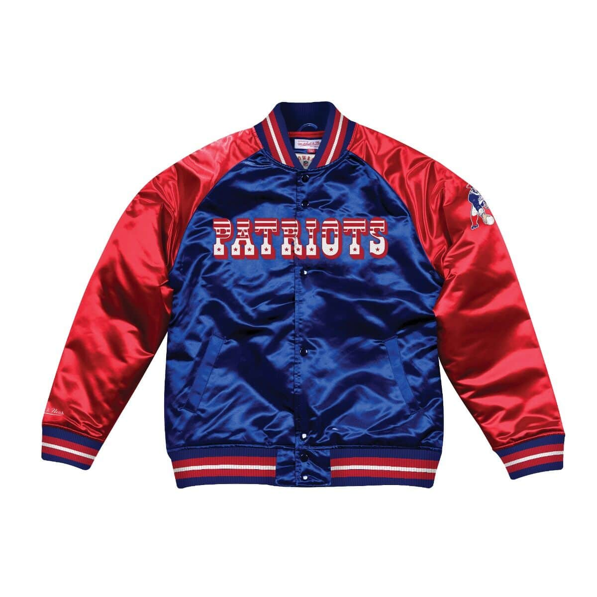 Tough Season Satin Jacket New England Patriots