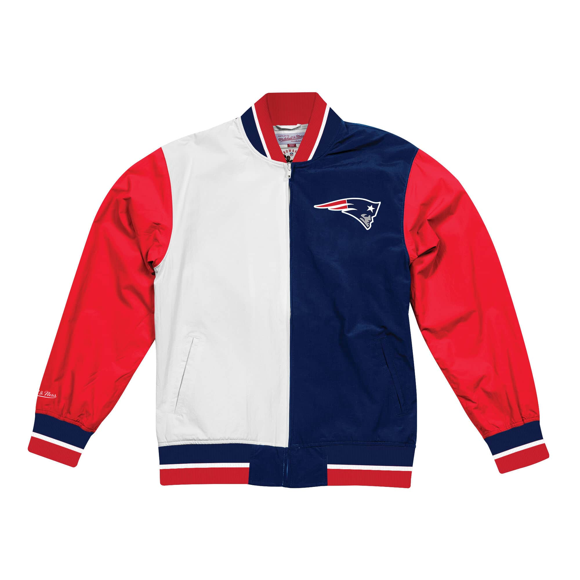 Team History Warm Up Jacket 2.0 New England Patriots