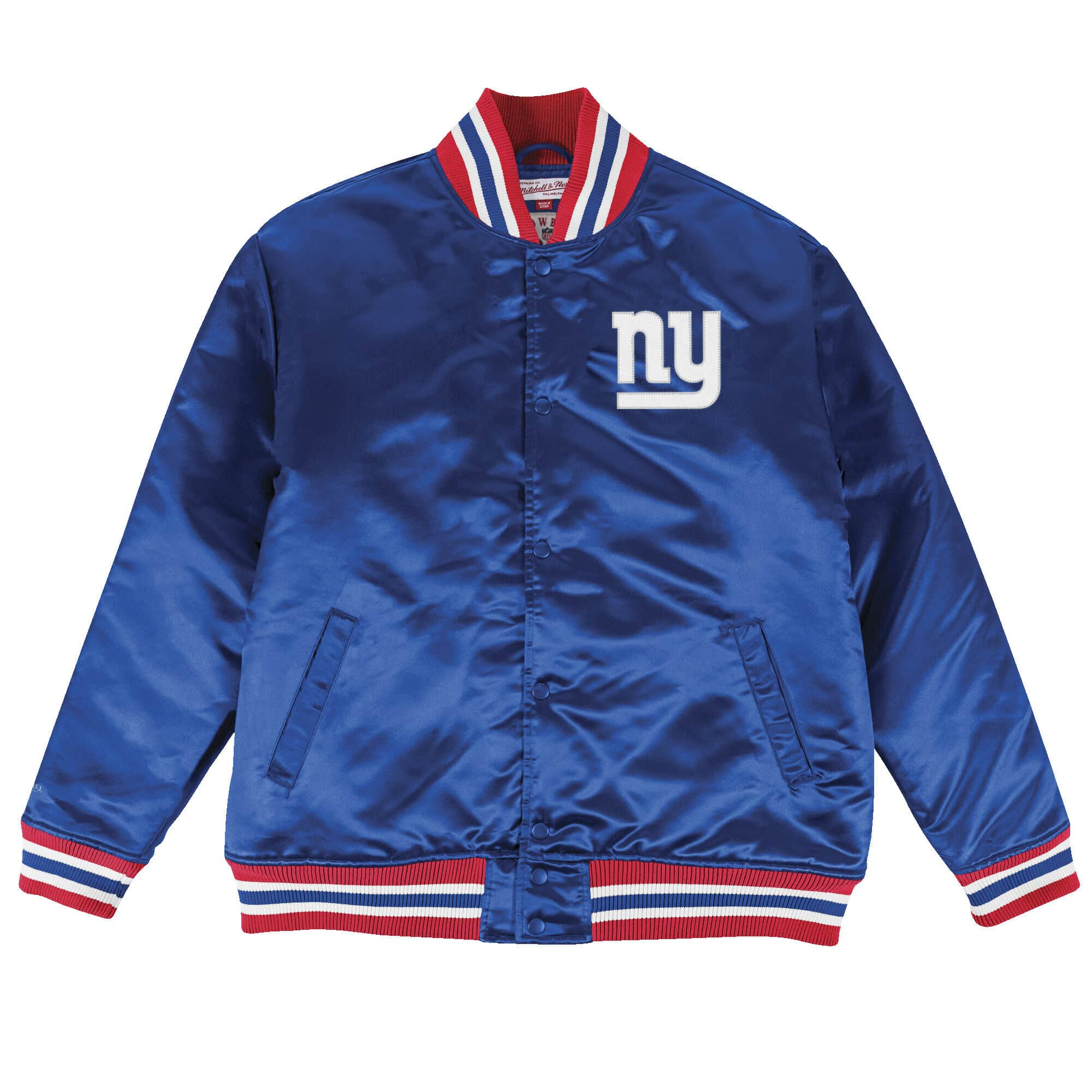 Satin Jacket New York Giants