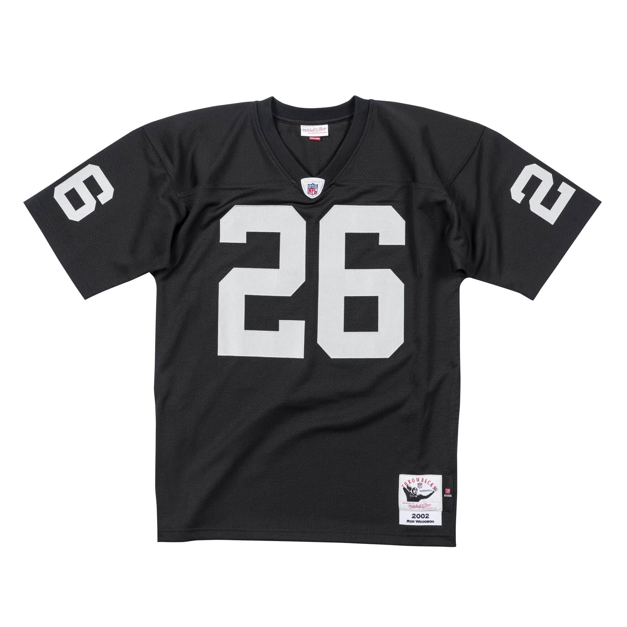 Rod Woodson 2002 Authentic Jersey Oakland Raiders