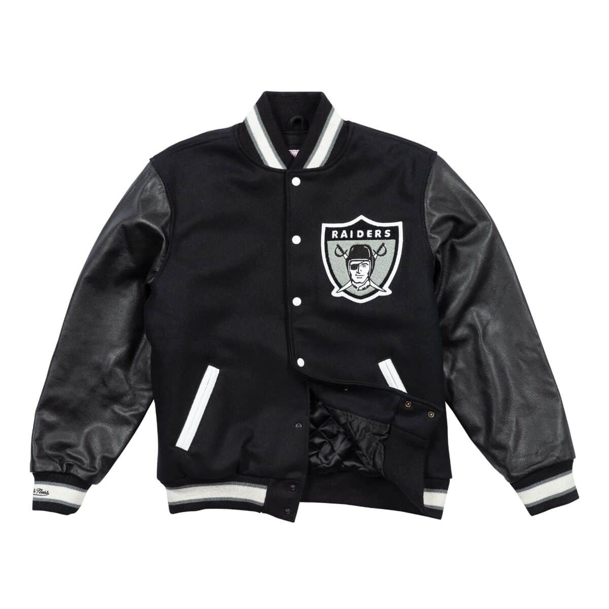 Authentic Wool Varsity Jacket Oakland Raiders