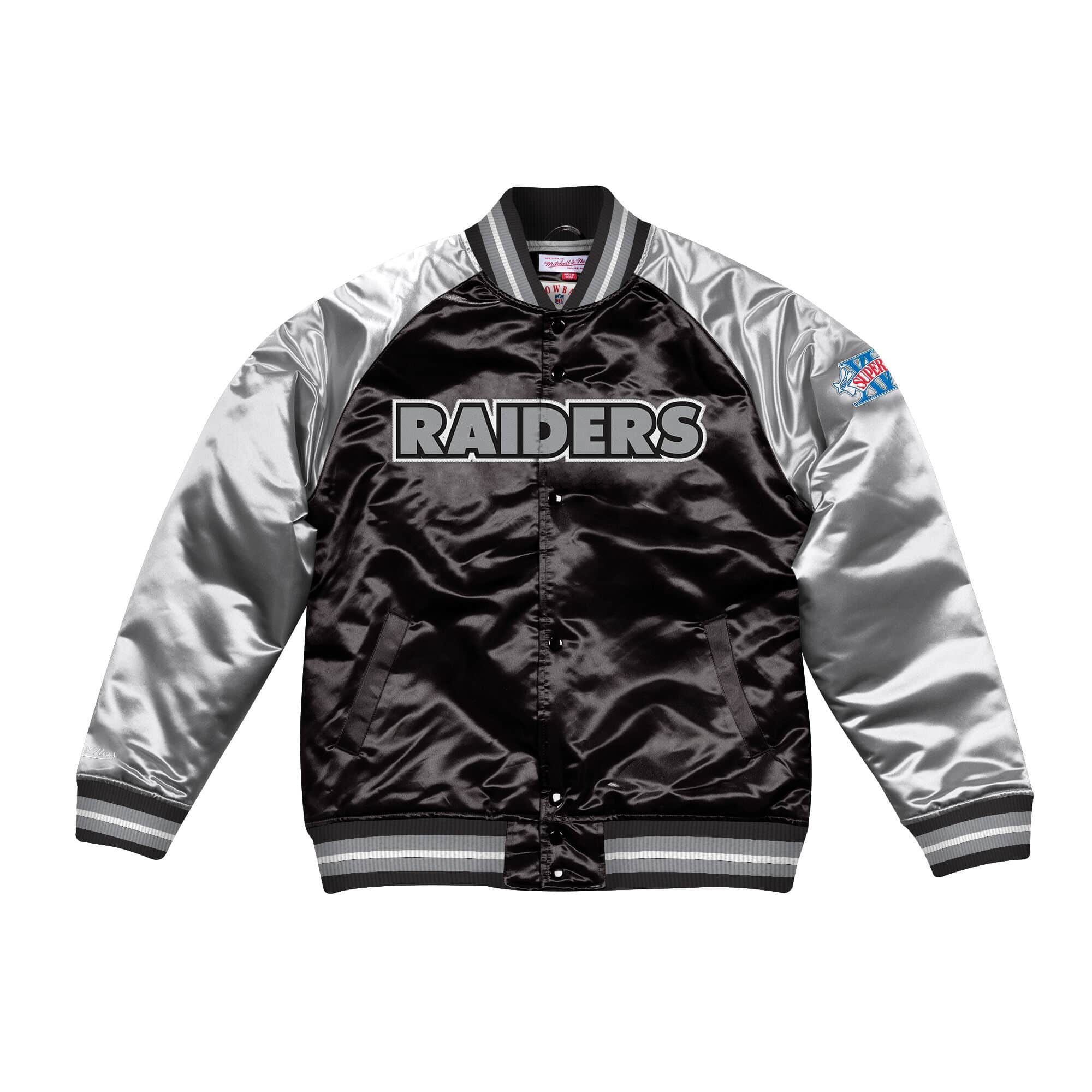 Tough Season Satin Jacket Oakland Raiders