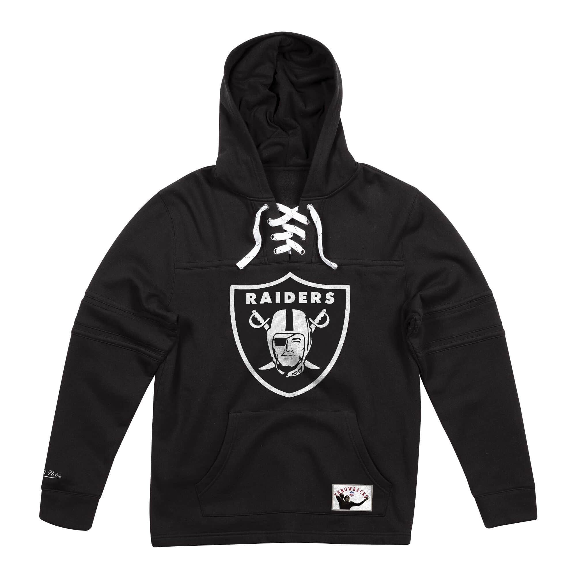 Hockey Hood Fleece Oakland Raiders