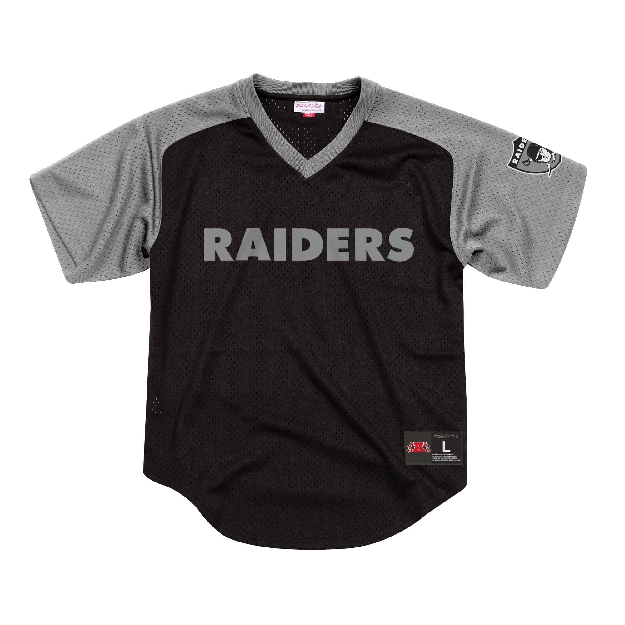 Final Seconds Mesh V-Neck Oakland Raiders