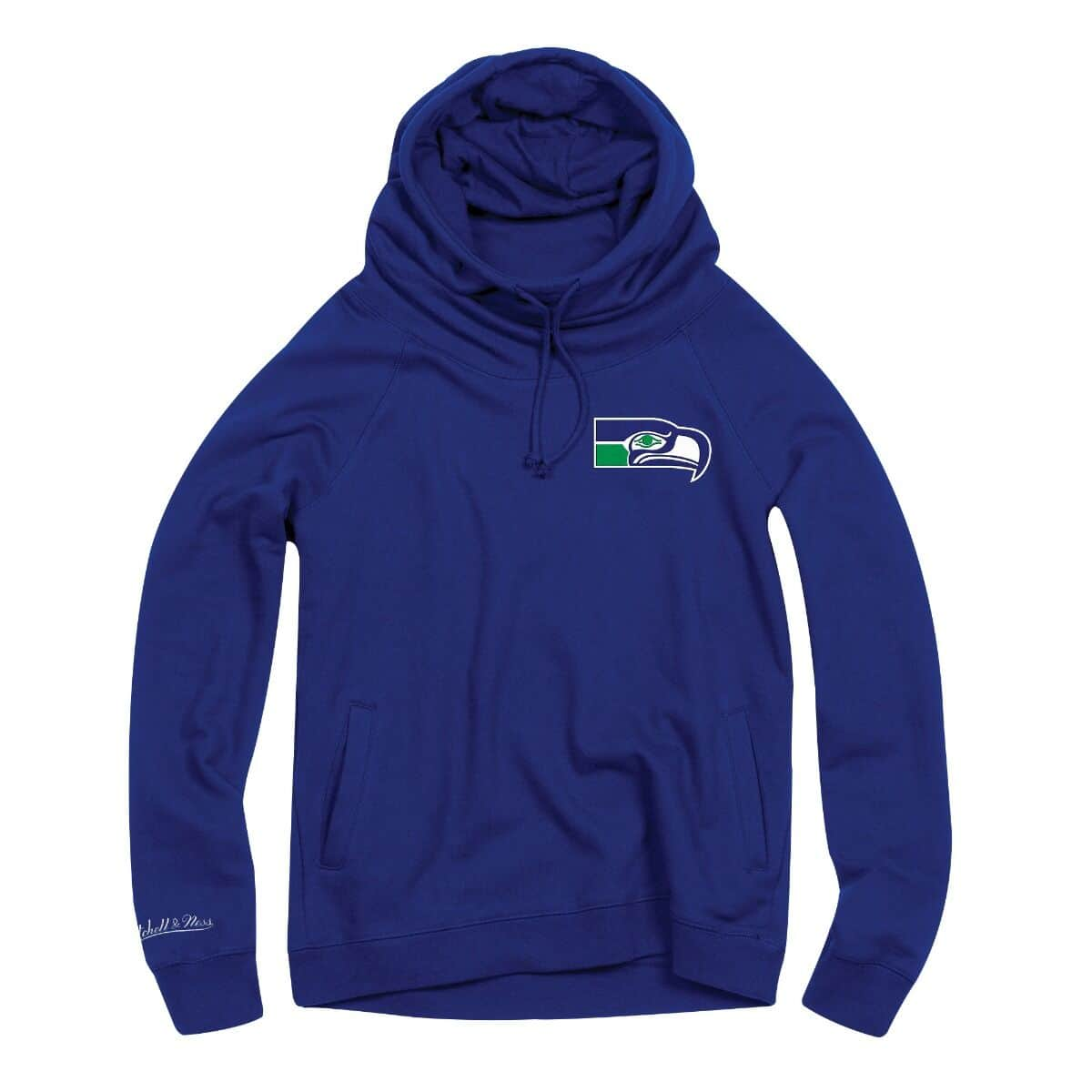 Women's Funnel Neck Hoody Seattle Seahawks
