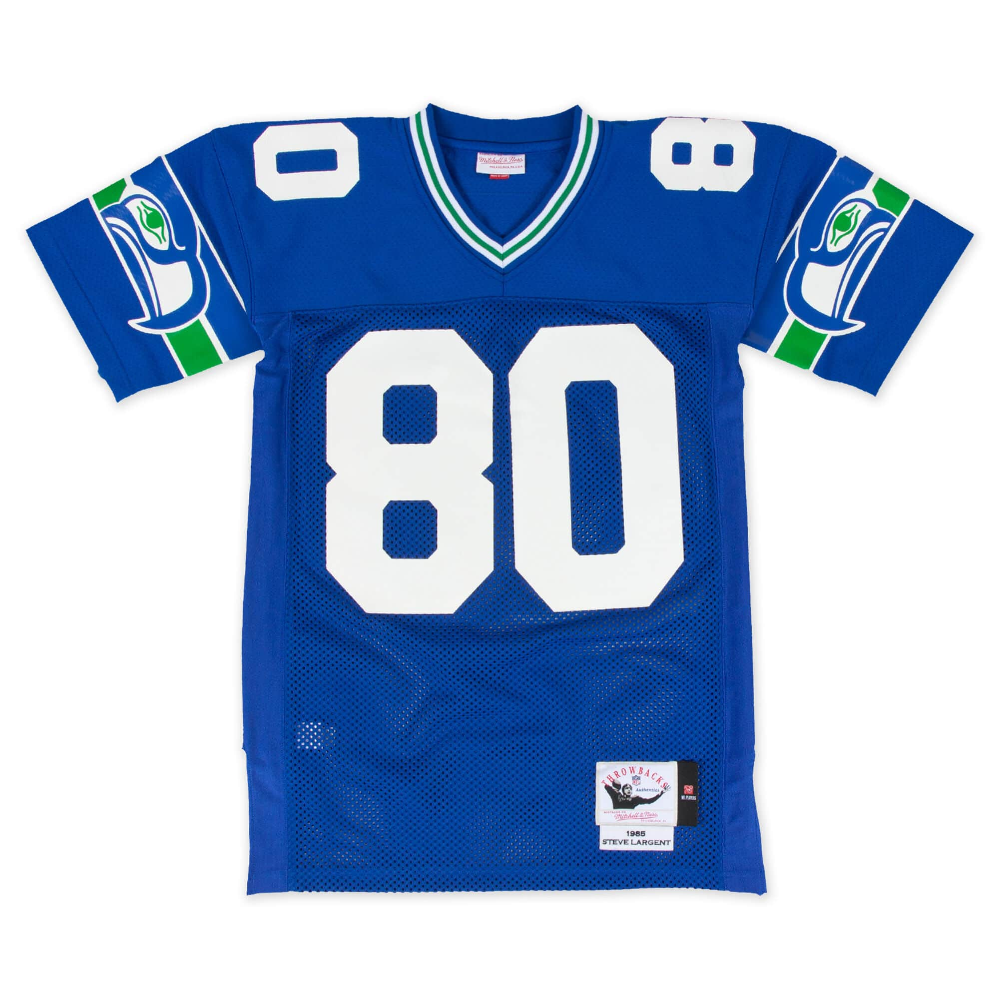 Steve Largent 1985 Authentic Jersey Seattle Seahawks