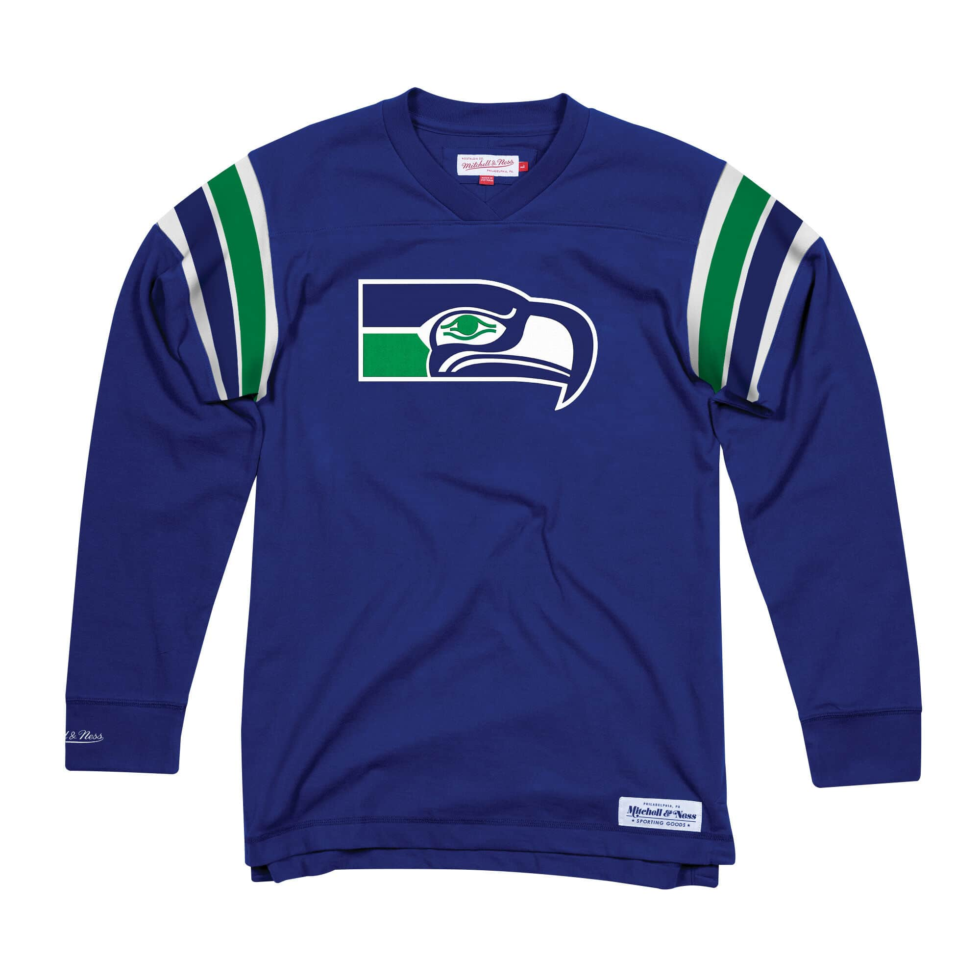 Team Captain V-Neck LS Seattle Seahawks