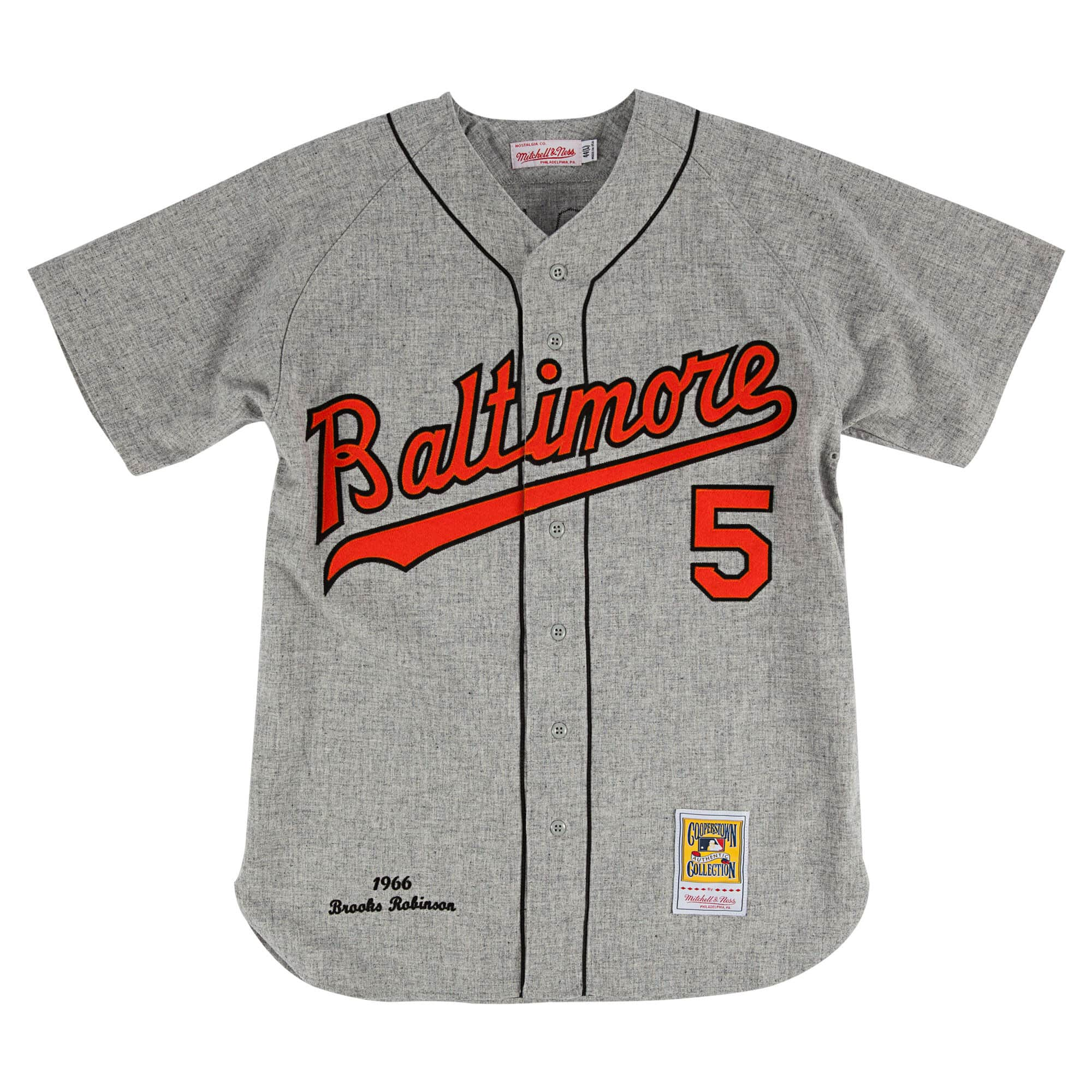 Brooks Robinson 1966 Authentic Jersey Baltimore Orioles