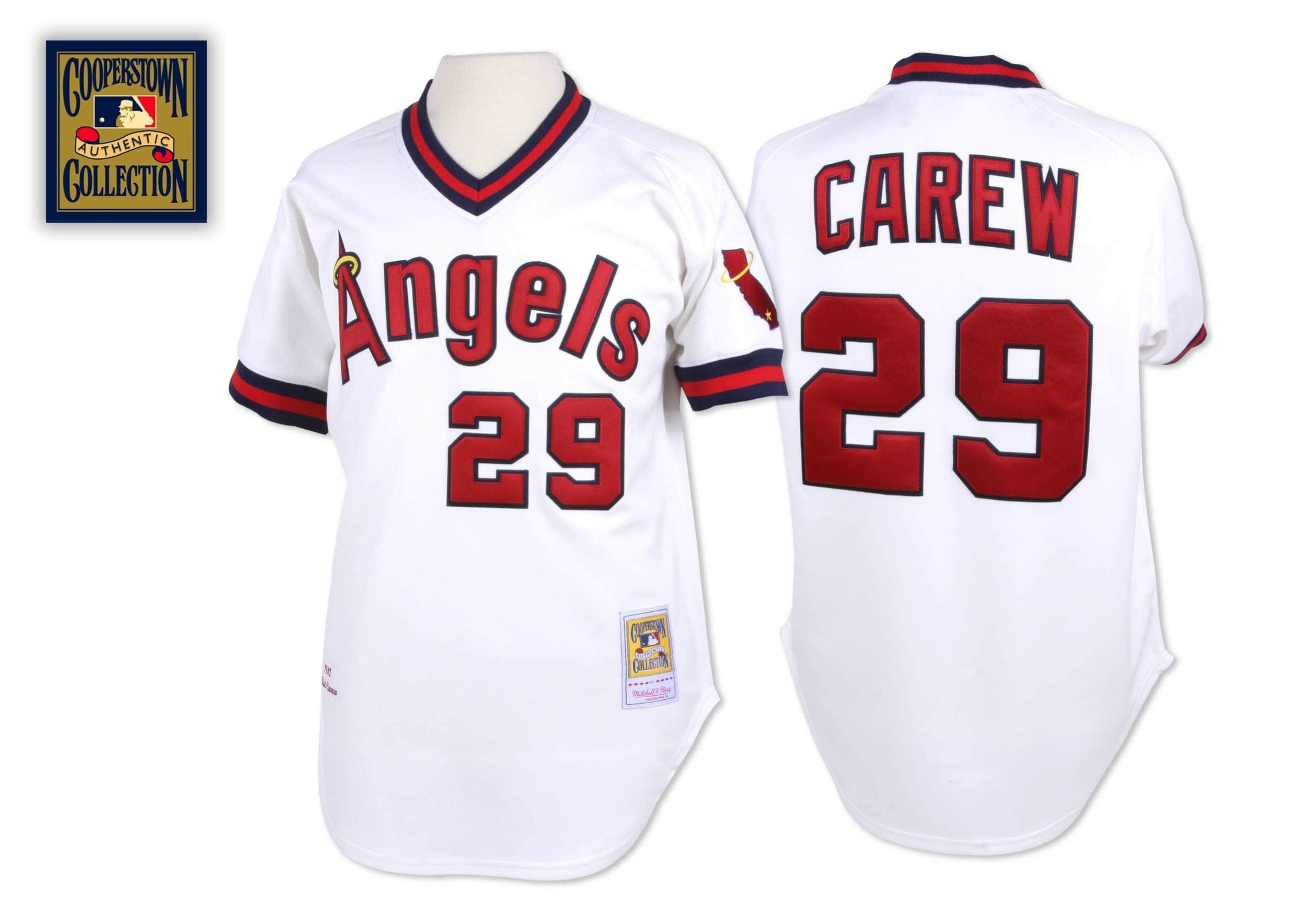 Rod Carew 1982 Authentic Jersey California Angels