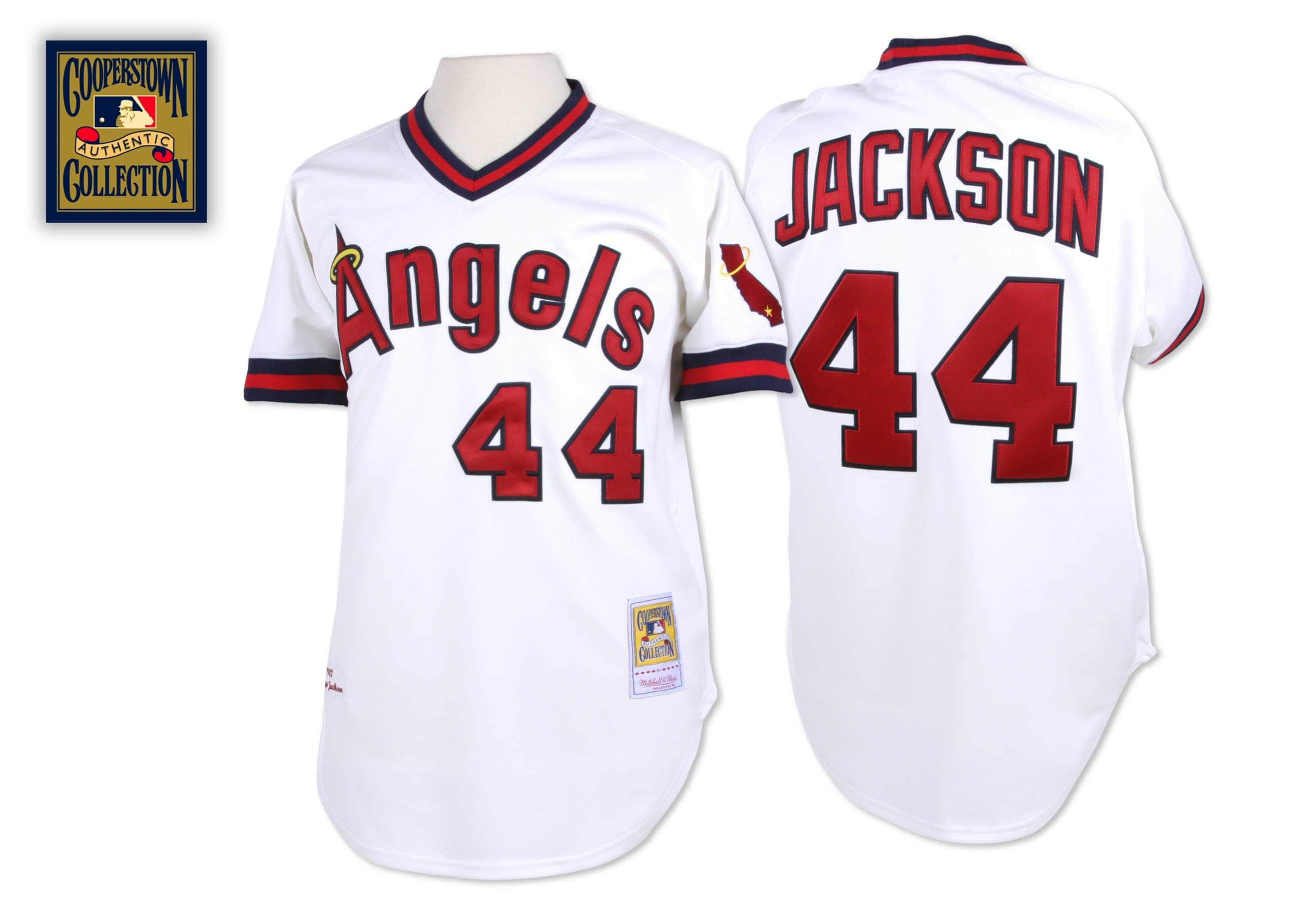 Reggie Jackson 1982 Authentic Jersey California Angels