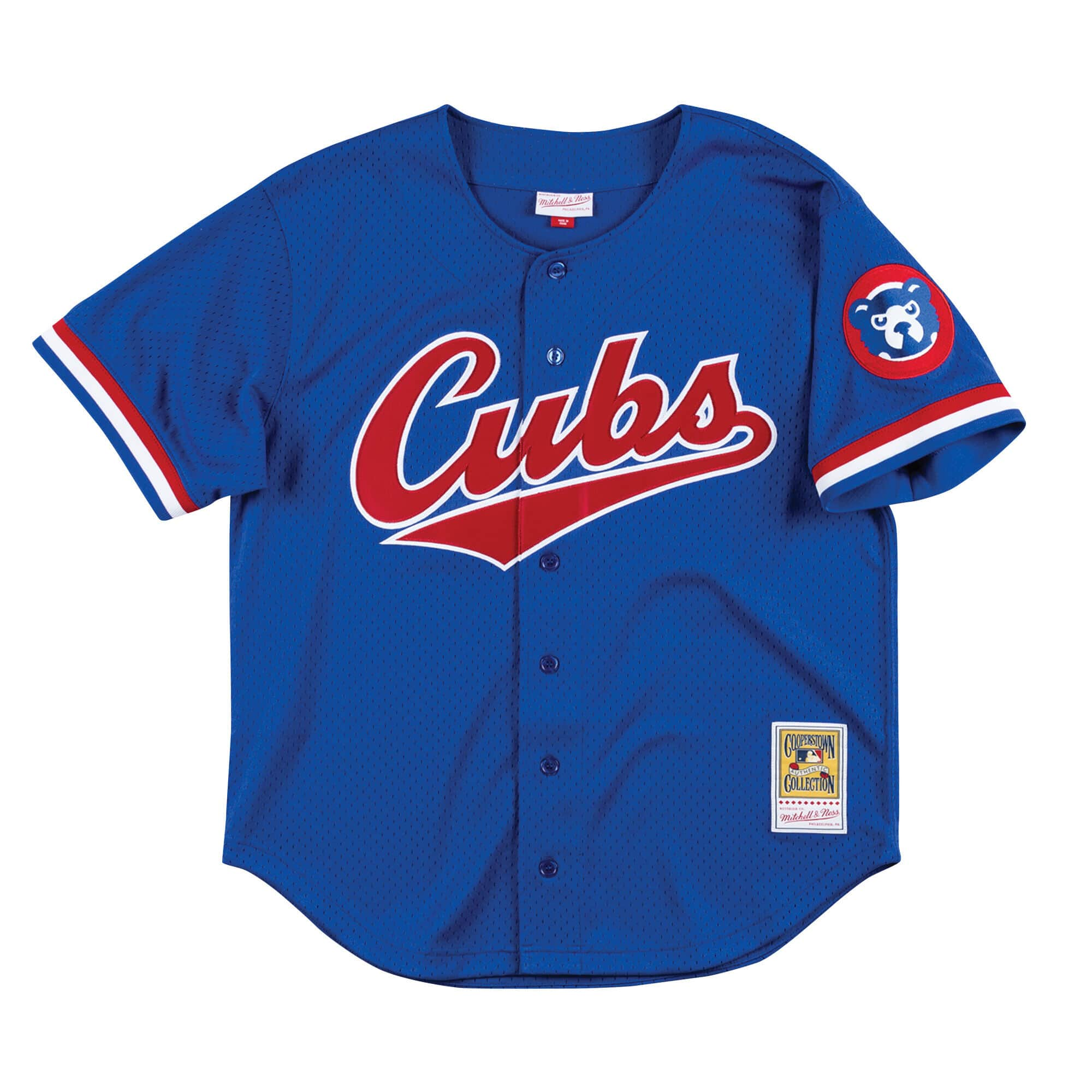 Authentic Mesh BP Jersey Chicago Cubs 1996 Ryne Sandberg