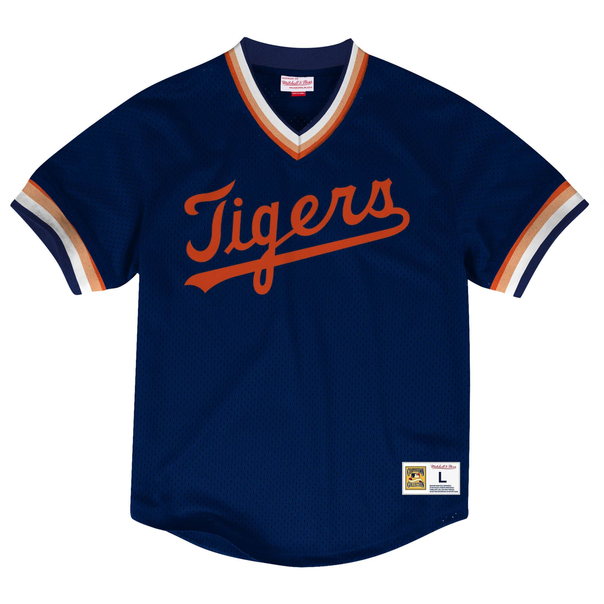 Mesh V-Neck Detroit Tigers