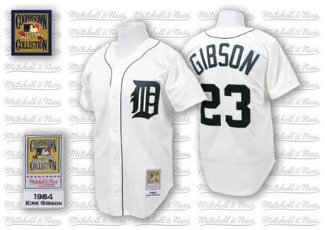 Kirk Gibson 1984 Authentic Jersey Detroit Tigers