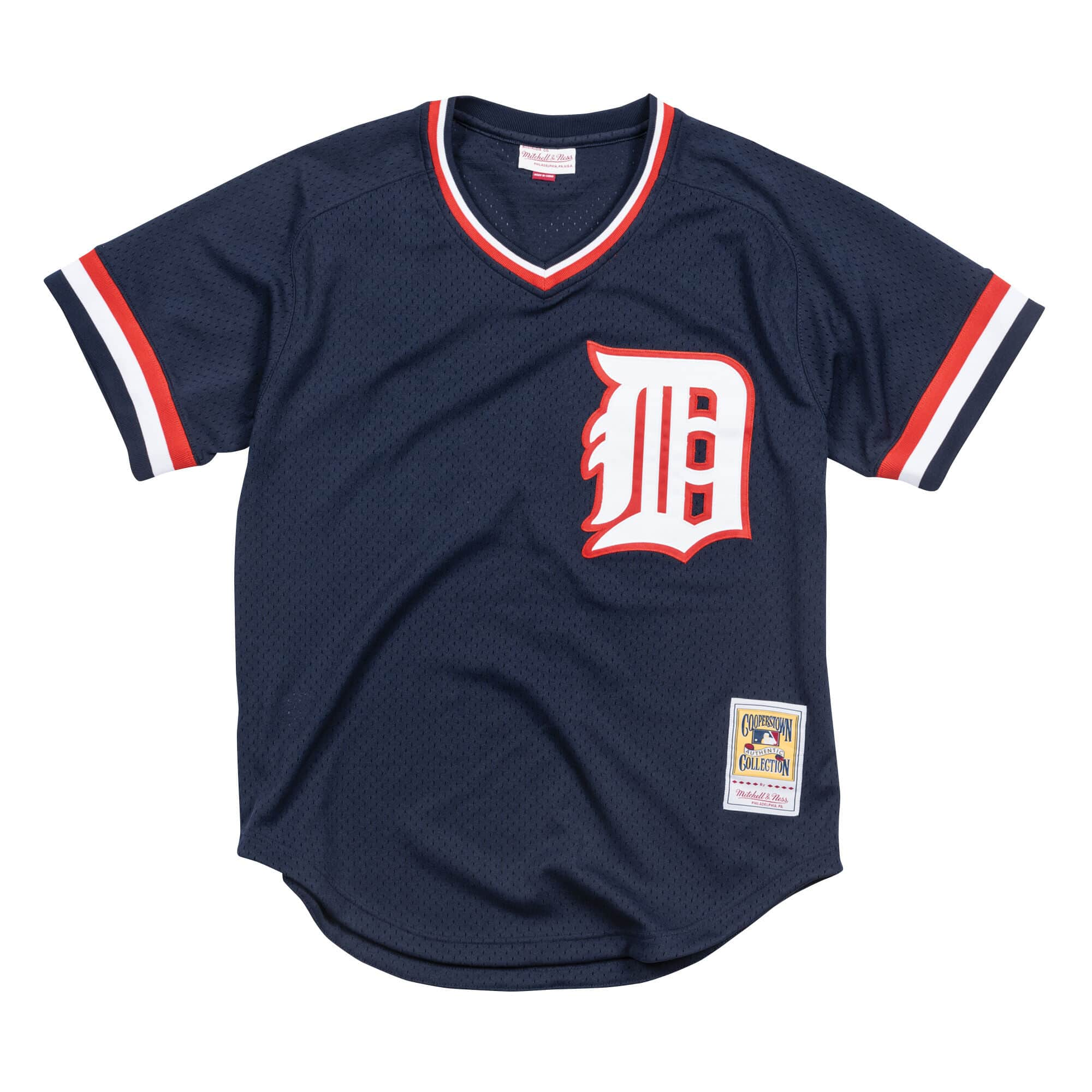 Jack Morris 1984 Detroit Tigers Authentic Mesh BP Jersey