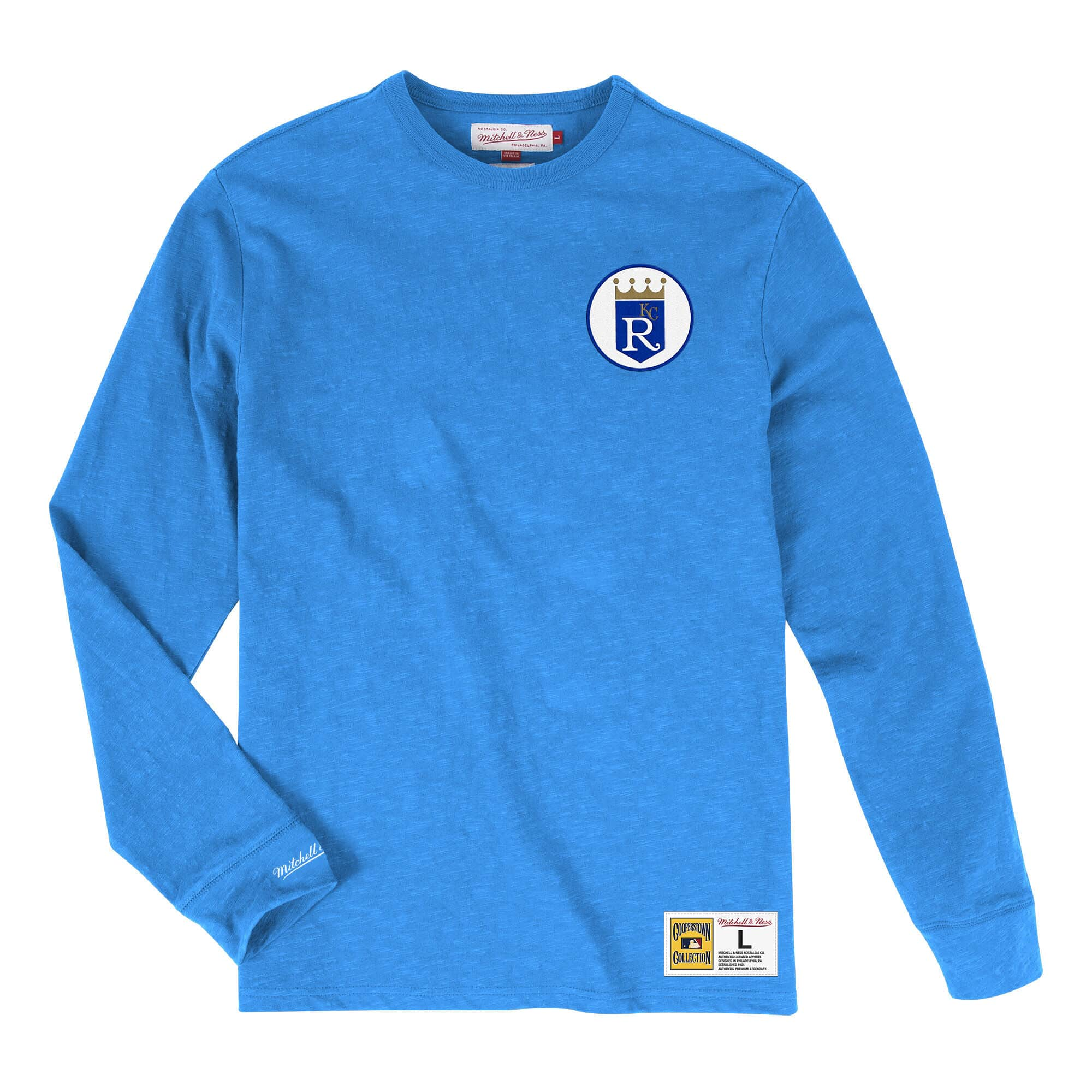 Slub Longsleeve Kansas City Royals