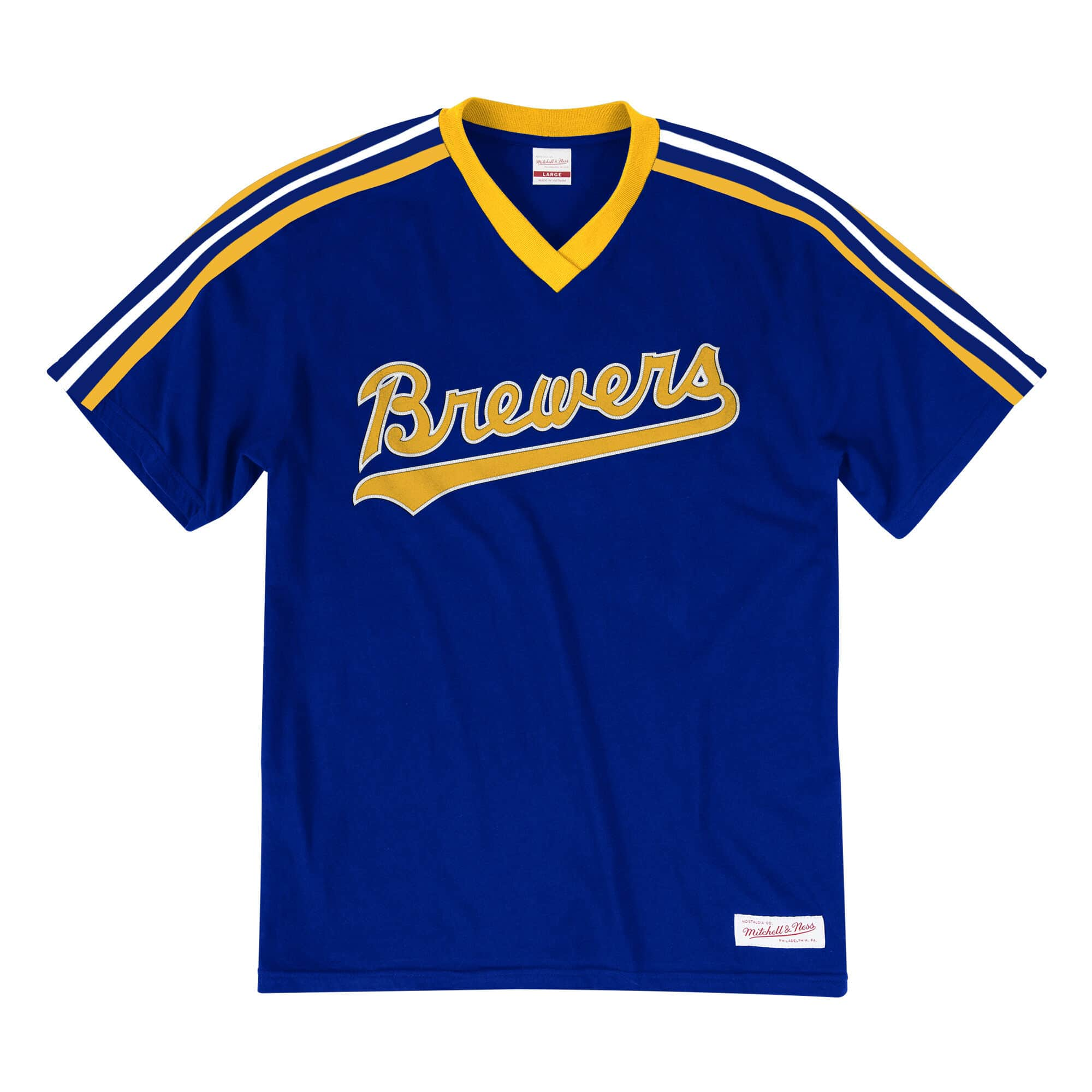 Overtime Win V-Neck Tee Milwaukee Brewers