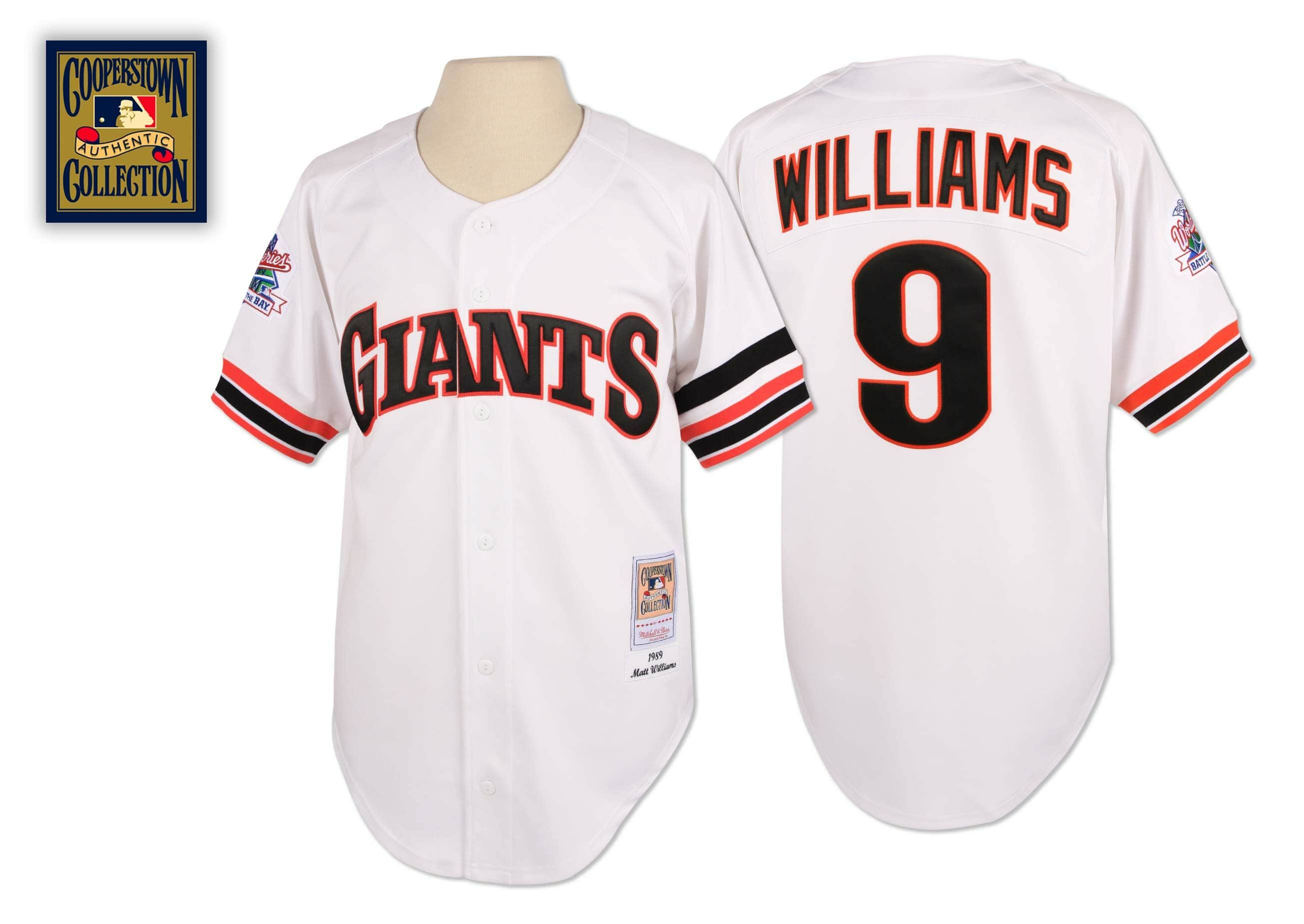 Matt Williams 1989 Authentic Jersey San Francisco Giants