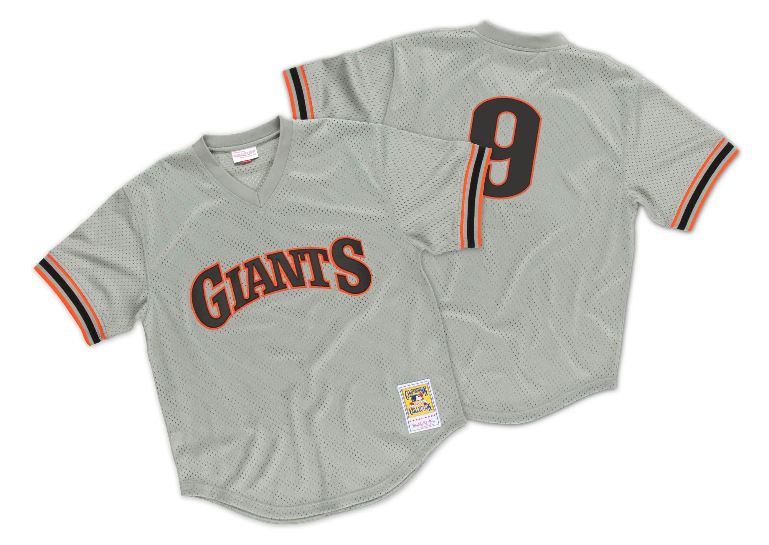 Matt Williams 1989 Authentic Mesh BP Jersey San Francisco Giants