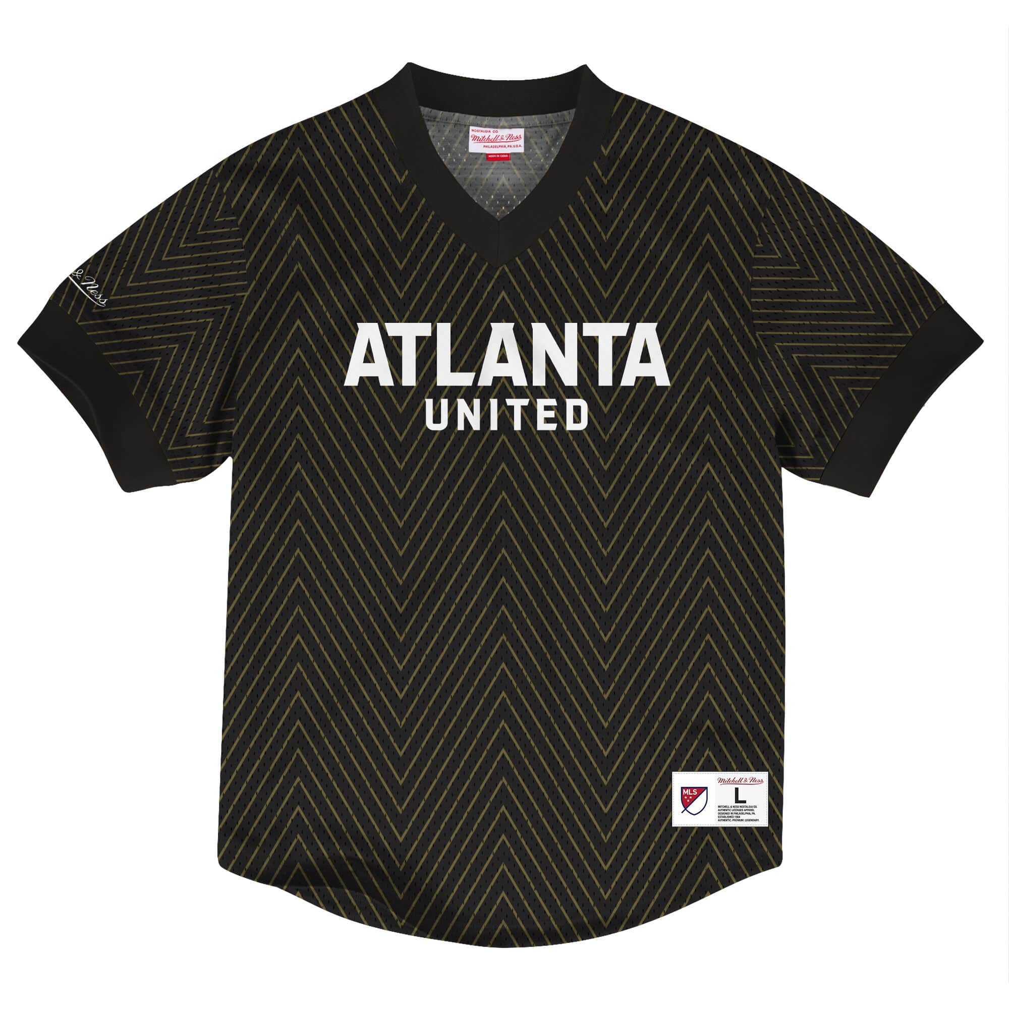 Wordmark Mesh V-Neck Atlanta United FC