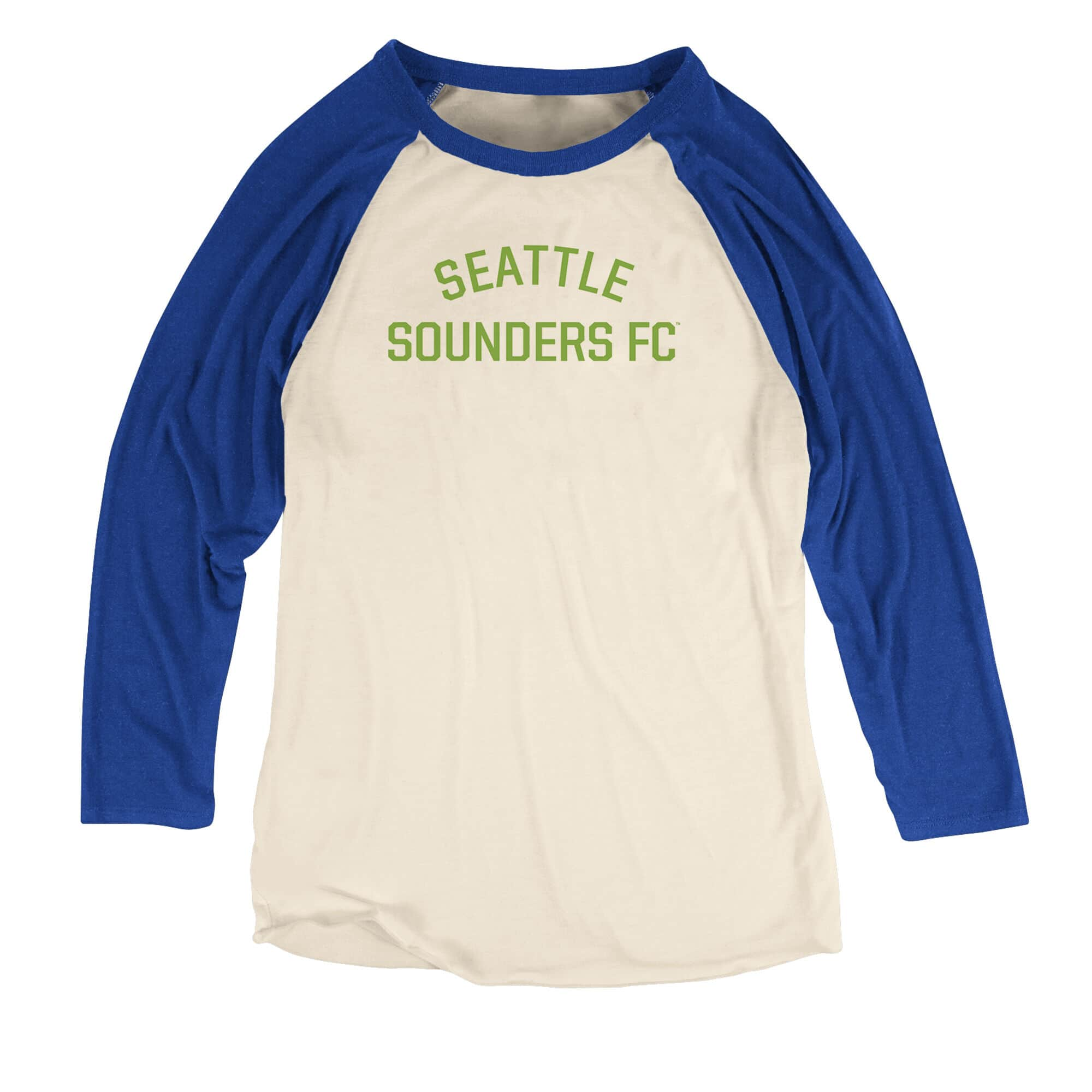 Team Issued Women's Raglan Seattle Sounders