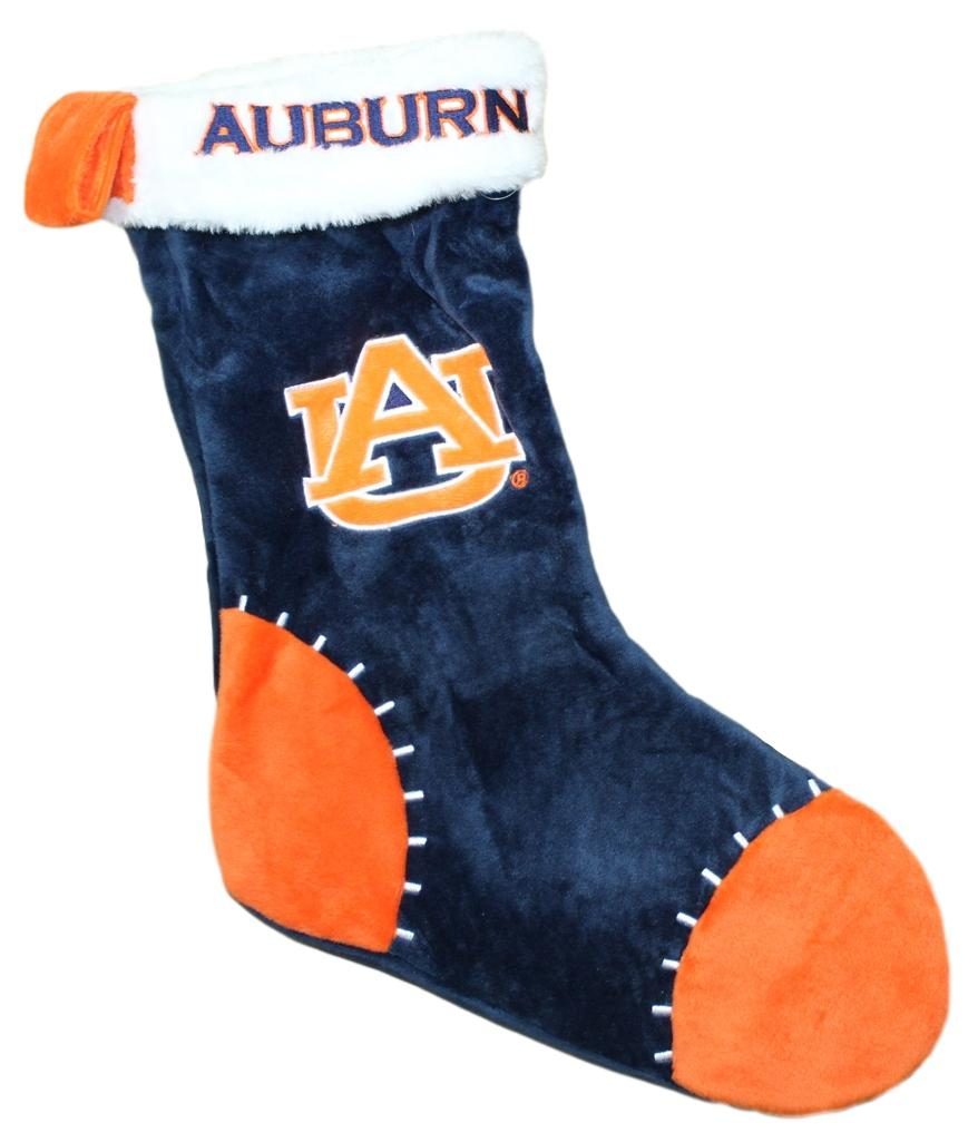 Auburn Tigers 2017 NCAA Basic Logo Plush Christmas Stocking