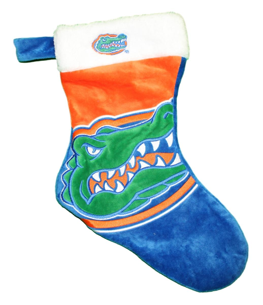 Florida Gators 2018 NCAA Basic Logo Plush Christmas Stocking