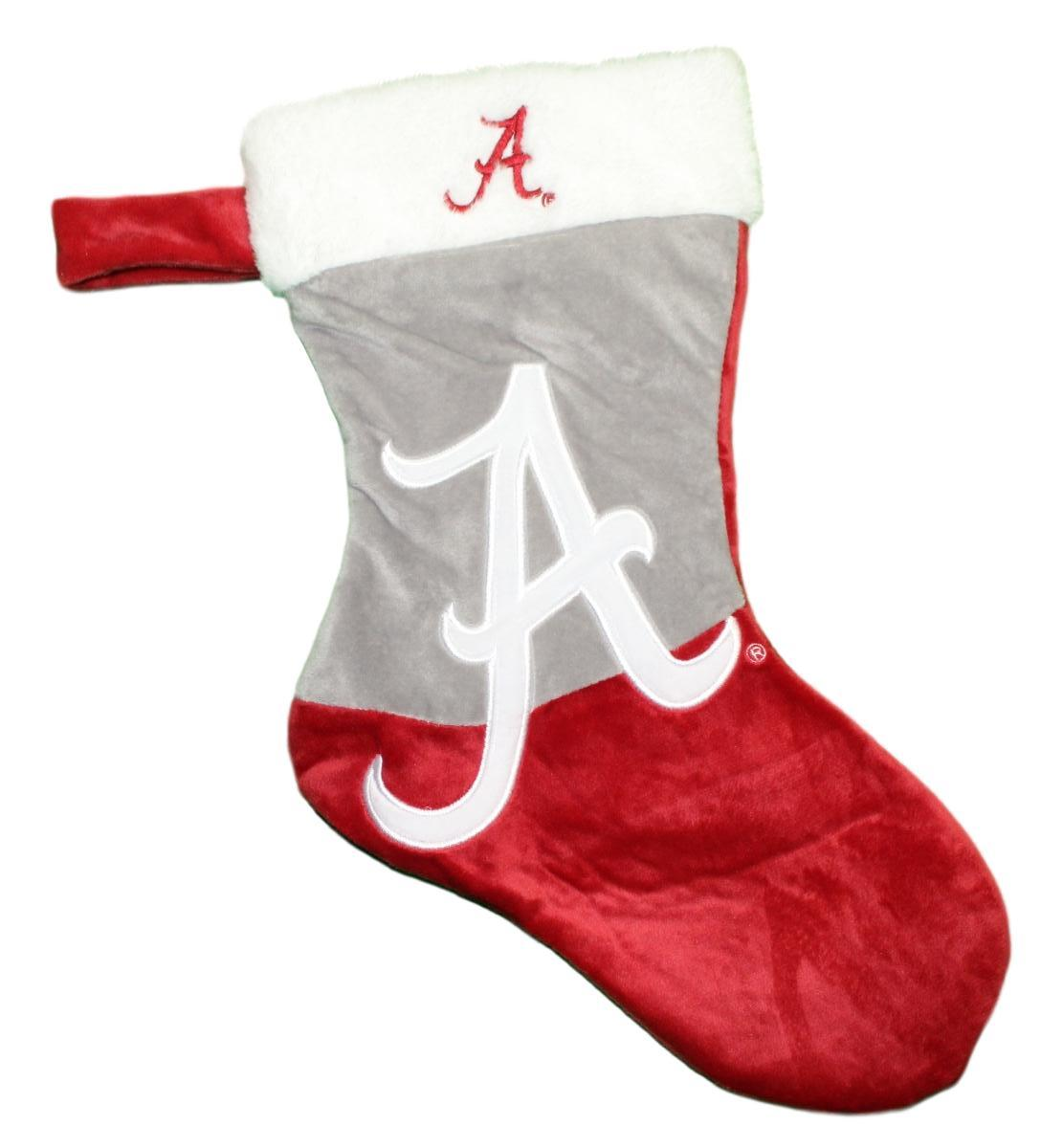 Alabama Crimson Tide 2018 NCAA Basic Logo Plush Christmas Stocking