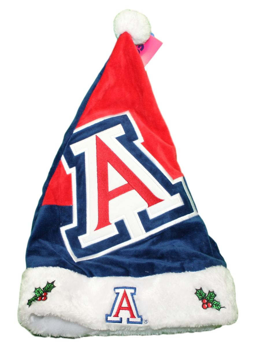 Arizona Wildcats 2018 NCAA Basic Logo Plush Christmas Santa Hat