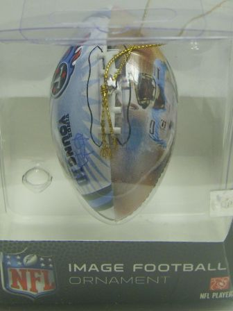 Vince Young Titans NFL Player Image Ornament