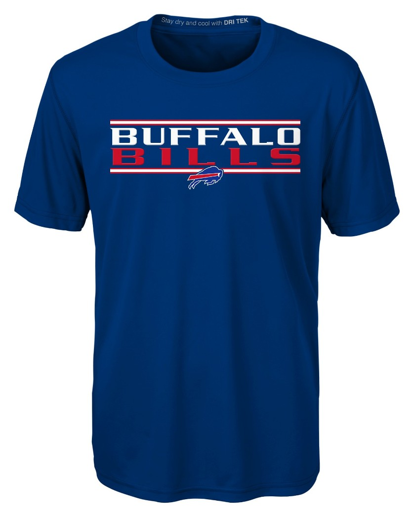 "Buffalo Bills Youth NFL ""Hard Hit"" Performance Short Sleeve T-Shirt"