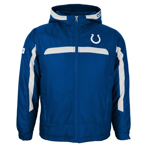 Indianapolis Colts Youth NFL Midweight Hooded Jacket