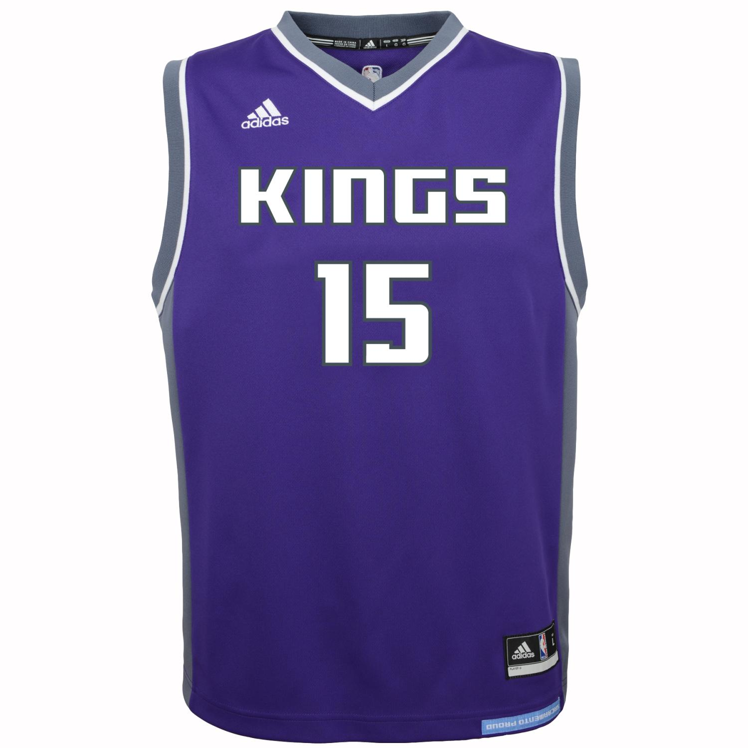 DeMarcus Cousins Sacramento Kings Adidas NBA Replica Youth Jersey