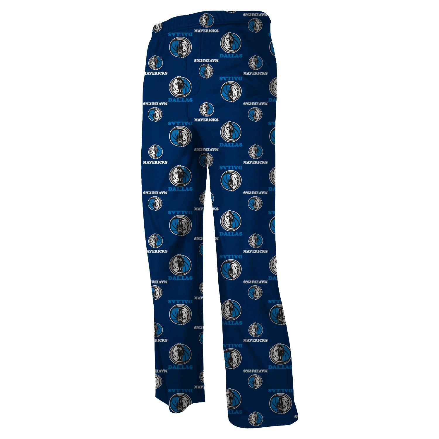 Dallas Mavericks Youth NBA Team Logo Pajama Pants